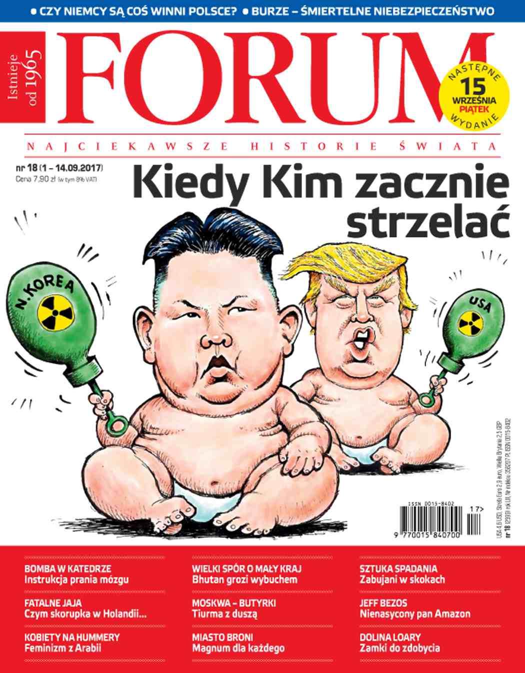 Forum nr 18/2017 - Ebook (Książka PDF) do pobrania w formacie PDF