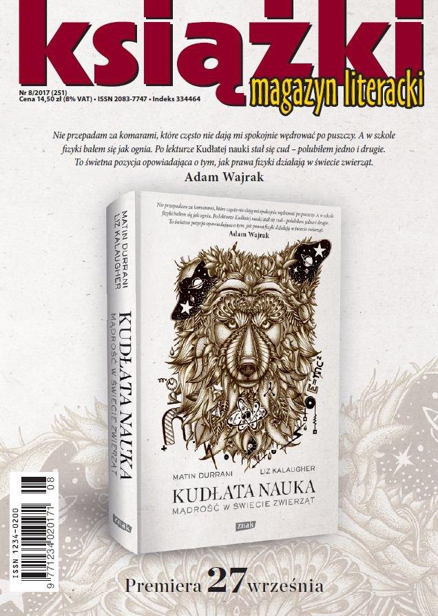 Magazyn Literacki Książki 8/2017 - Ebook (Książka PDF) do pobrania w formacie PDF