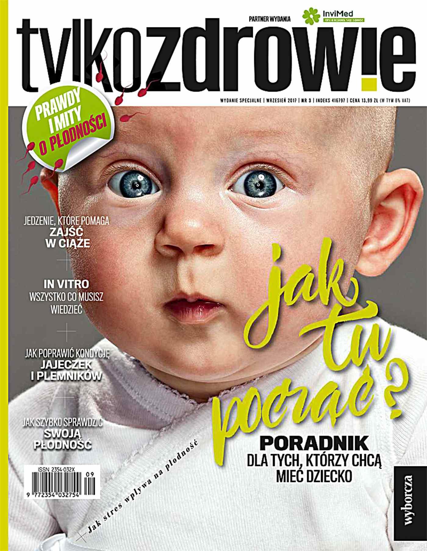 Tylko Zdrowie. Wydanie Specjalne 3/2017 Poradnik dla tych którzy chcą mieć dziecko - Ebook (Książka PDF) do pobrania w formacie PDF