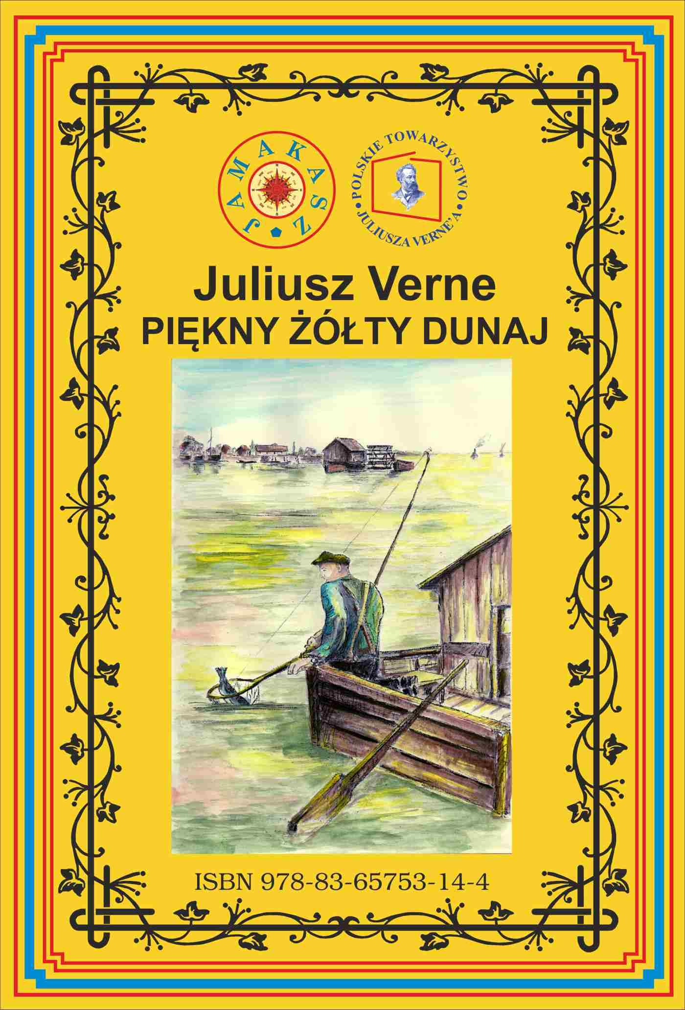 Piękny żółty Dunaj. Wg rękopisu. Pierwsze polskie tłumaczenie - Ebook (Książka EPUB) do pobrania w formacie EPUB
