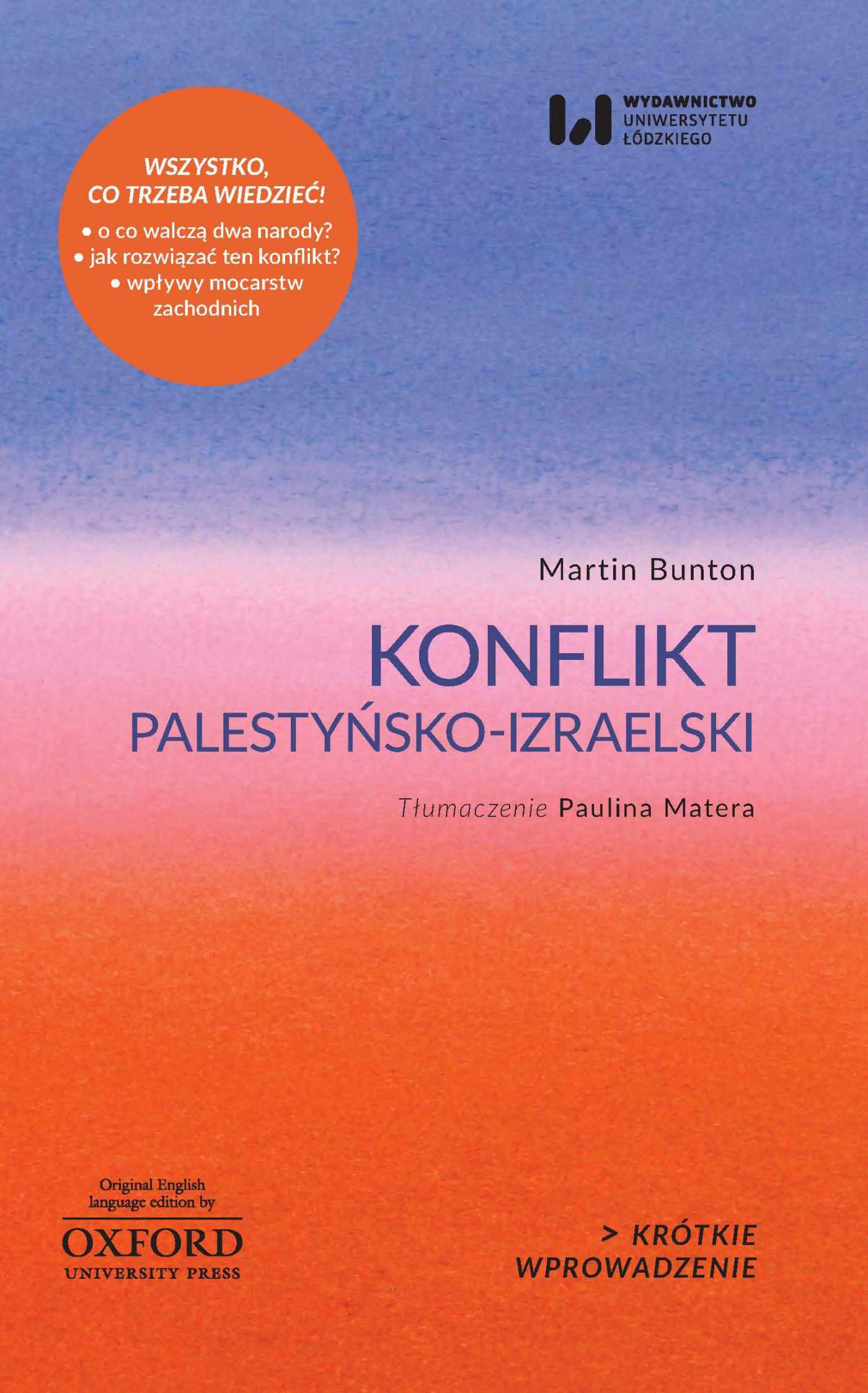 Konflikt palestyńsko-izraelski. Krótkie Wprowadzenie 4 - Ebook (Książka EPUB) do pobrania w formacie EPUB