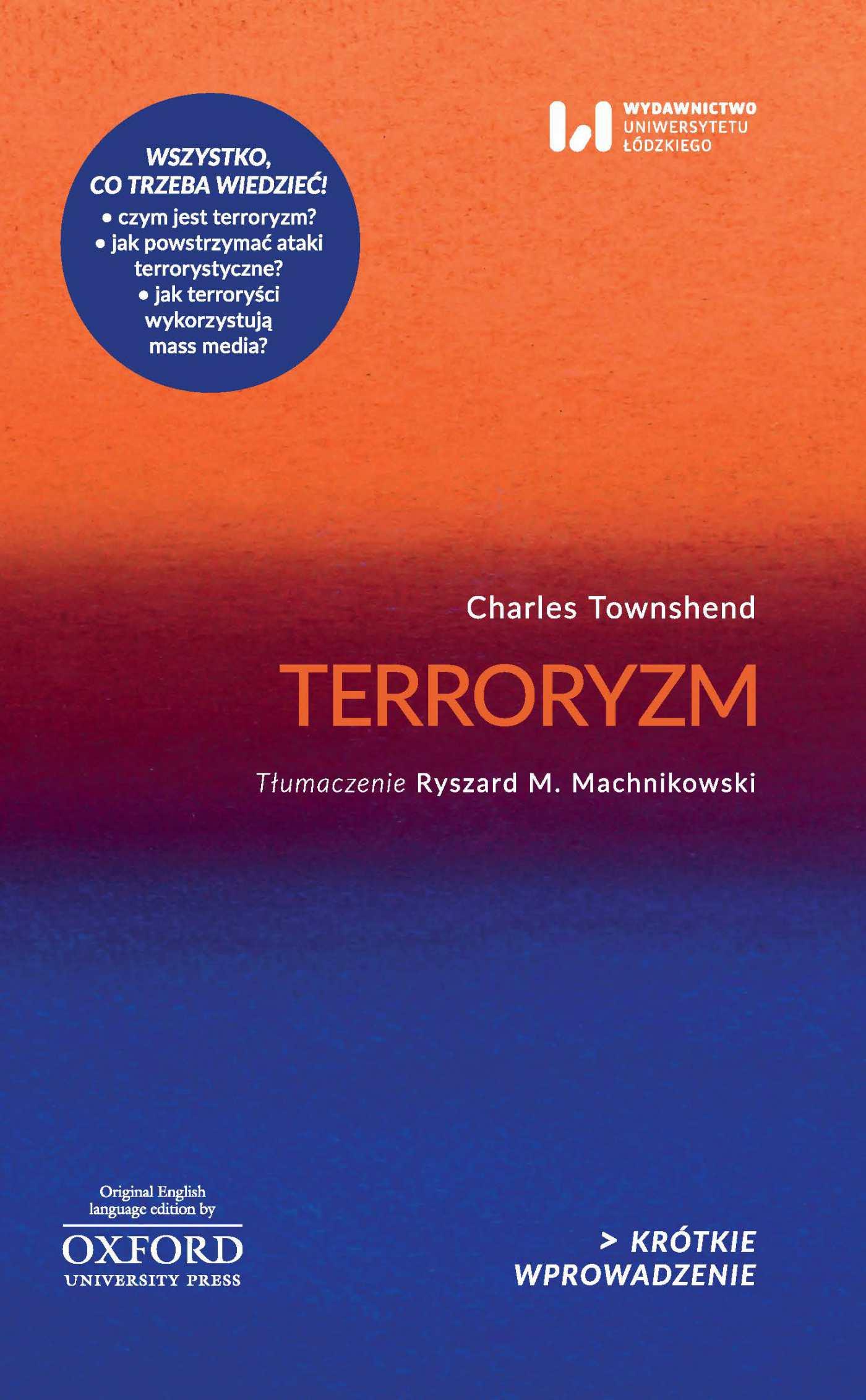 Terroryzm. Krótkie Wprowadzenie 5 - Ebook (Książka EPUB) do pobrania w formacie EPUB