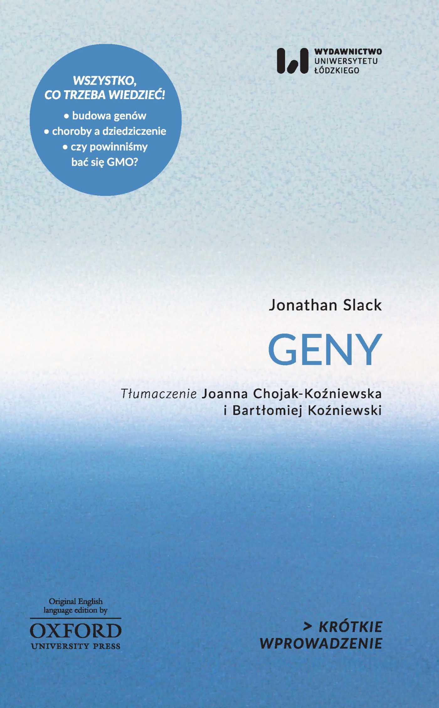 Geny. Krótkie Wprowadzenie 6 - Ebook (Książka PDF) do pobrania w formacie PDF