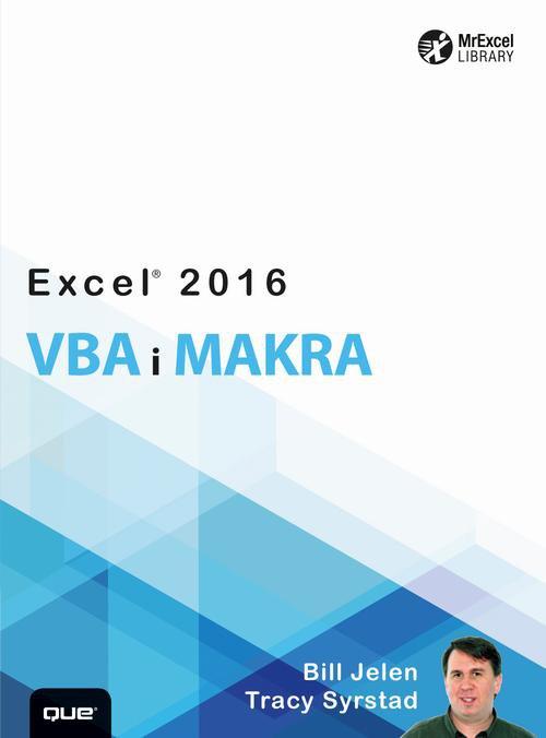 Excel 2016 VBA i makra - Ebook (Książka PDF) do pobrania w formacie PDF