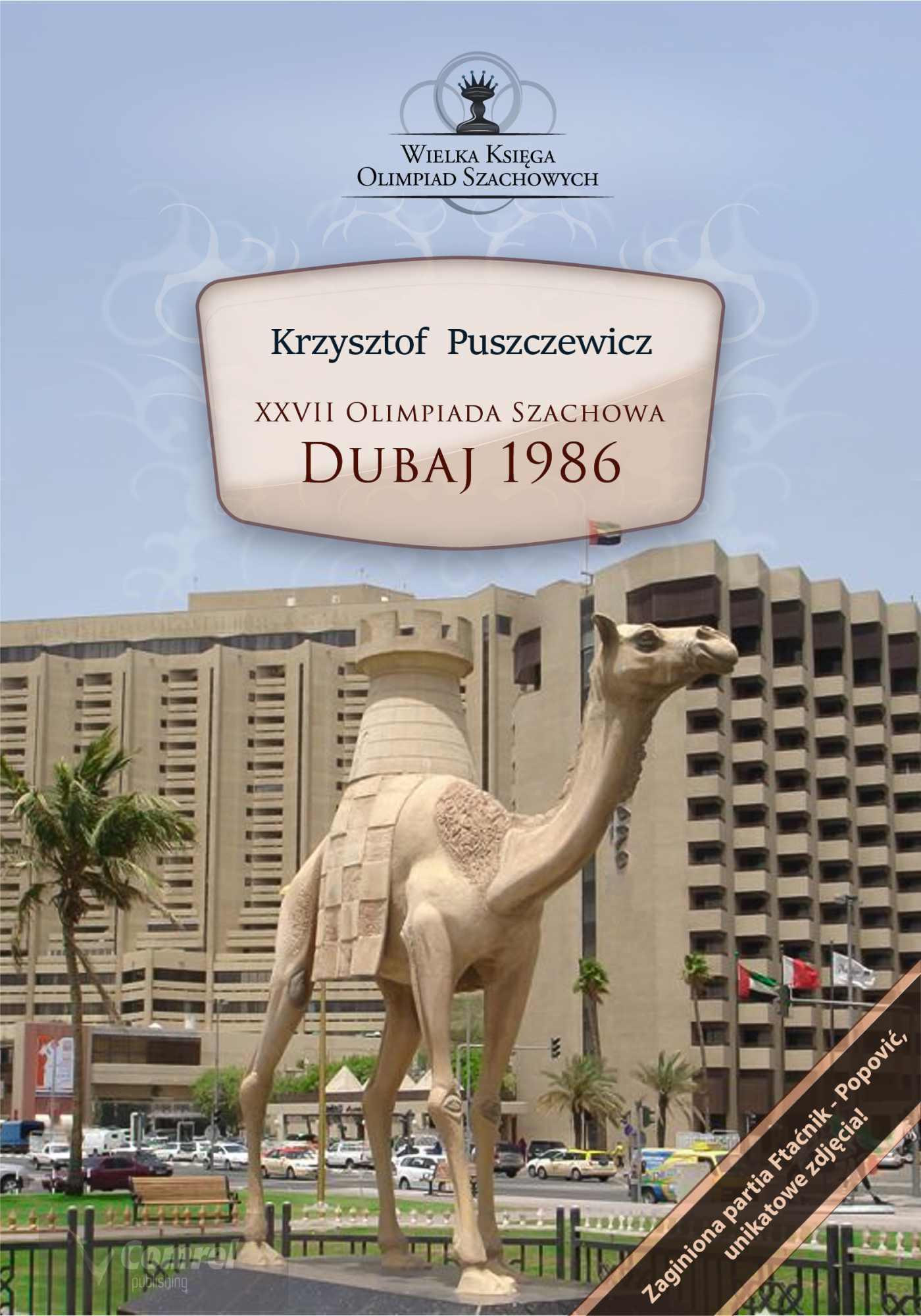 XXVII Olimpiada Szachowa - Dubaj 1986 - Ebook (Książka PDF) do pobrania w formacie PDF