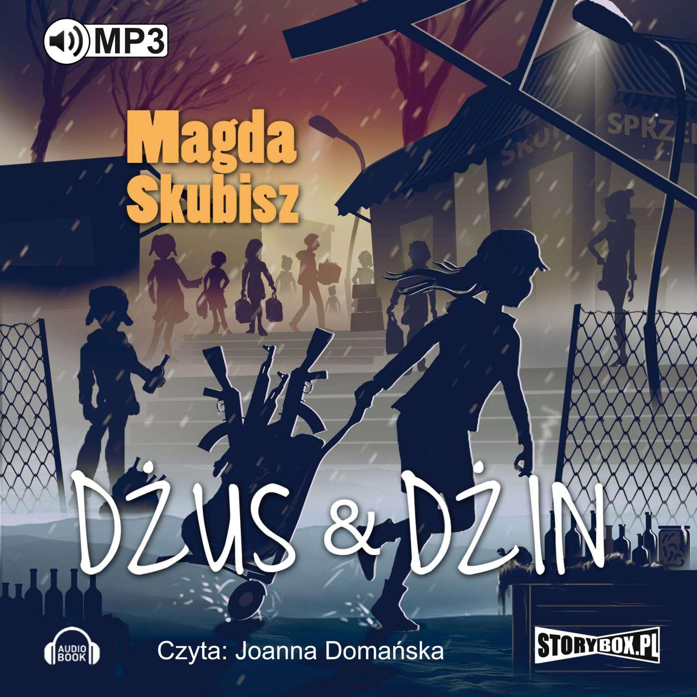 Dżus&dżin - Audiobook (Książka audio MP3) do pobrania w całości w archiwum ZIP
