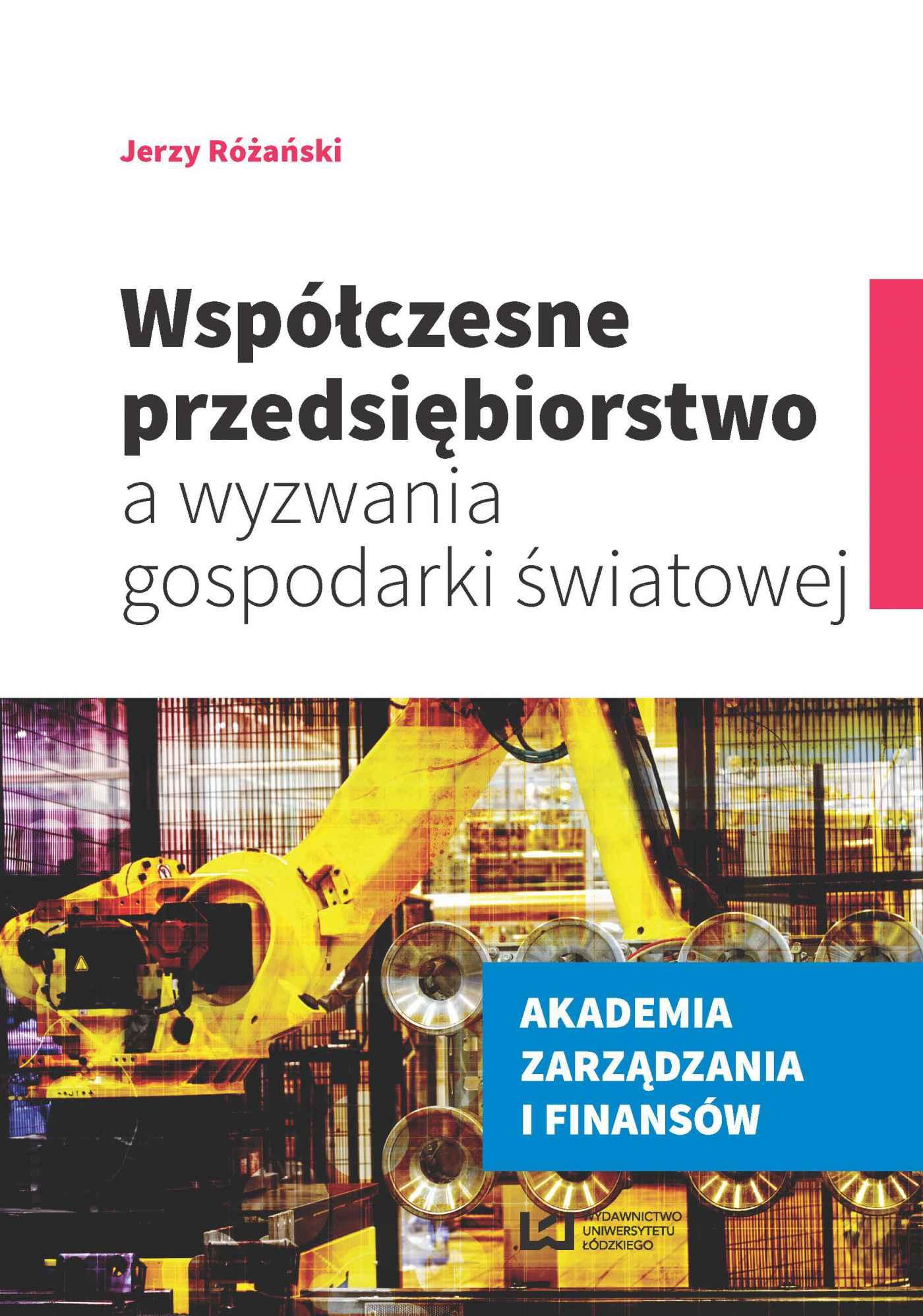 Współczesne przedsiębiorstwo a wyzwania gospodarki światowej - Ebook (Książka PDF) do pobrania w formacie PDF