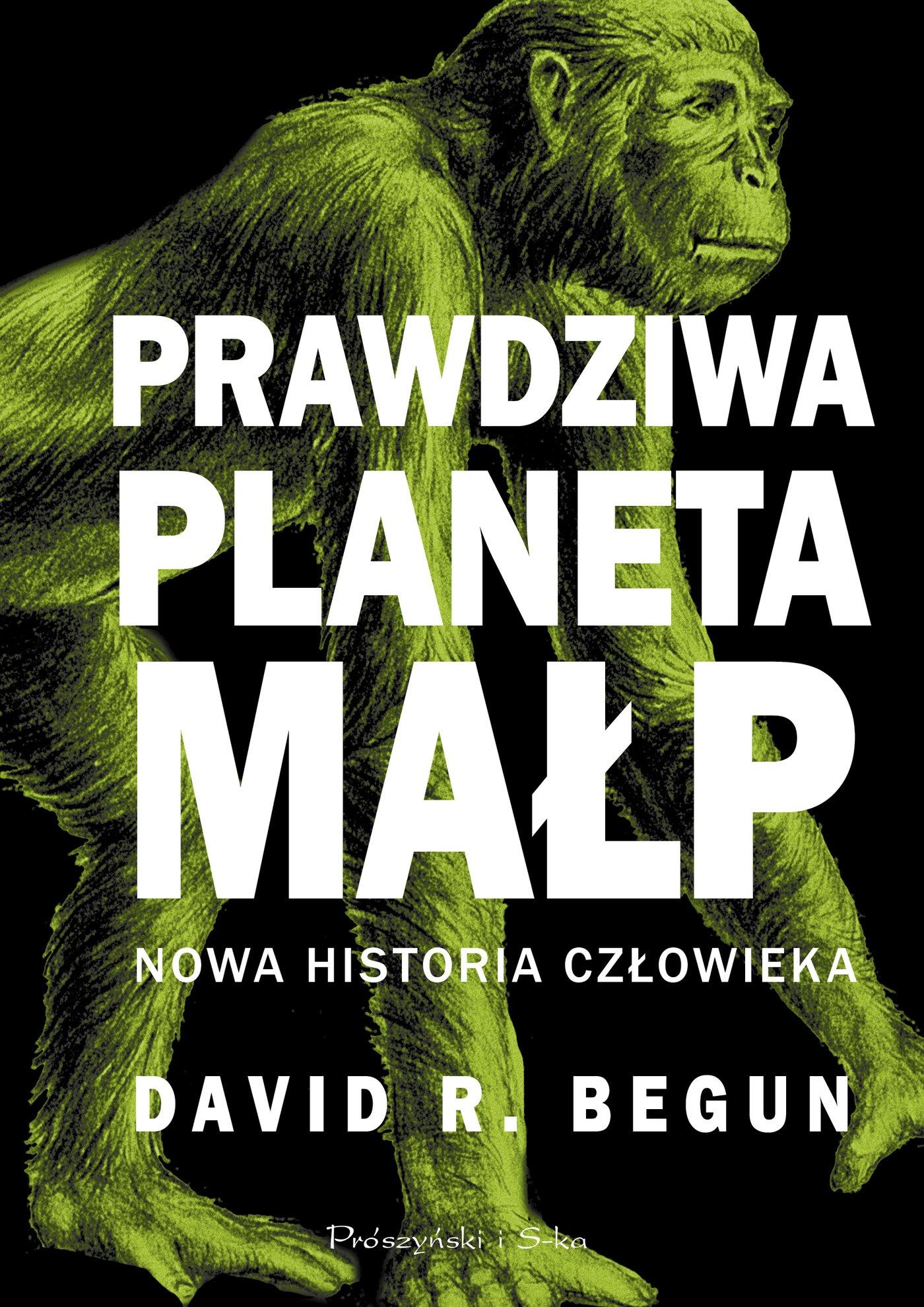 Prawdziwa planeta małp - Ebook (Książka EPUB) do pobrania w formacie EPUB