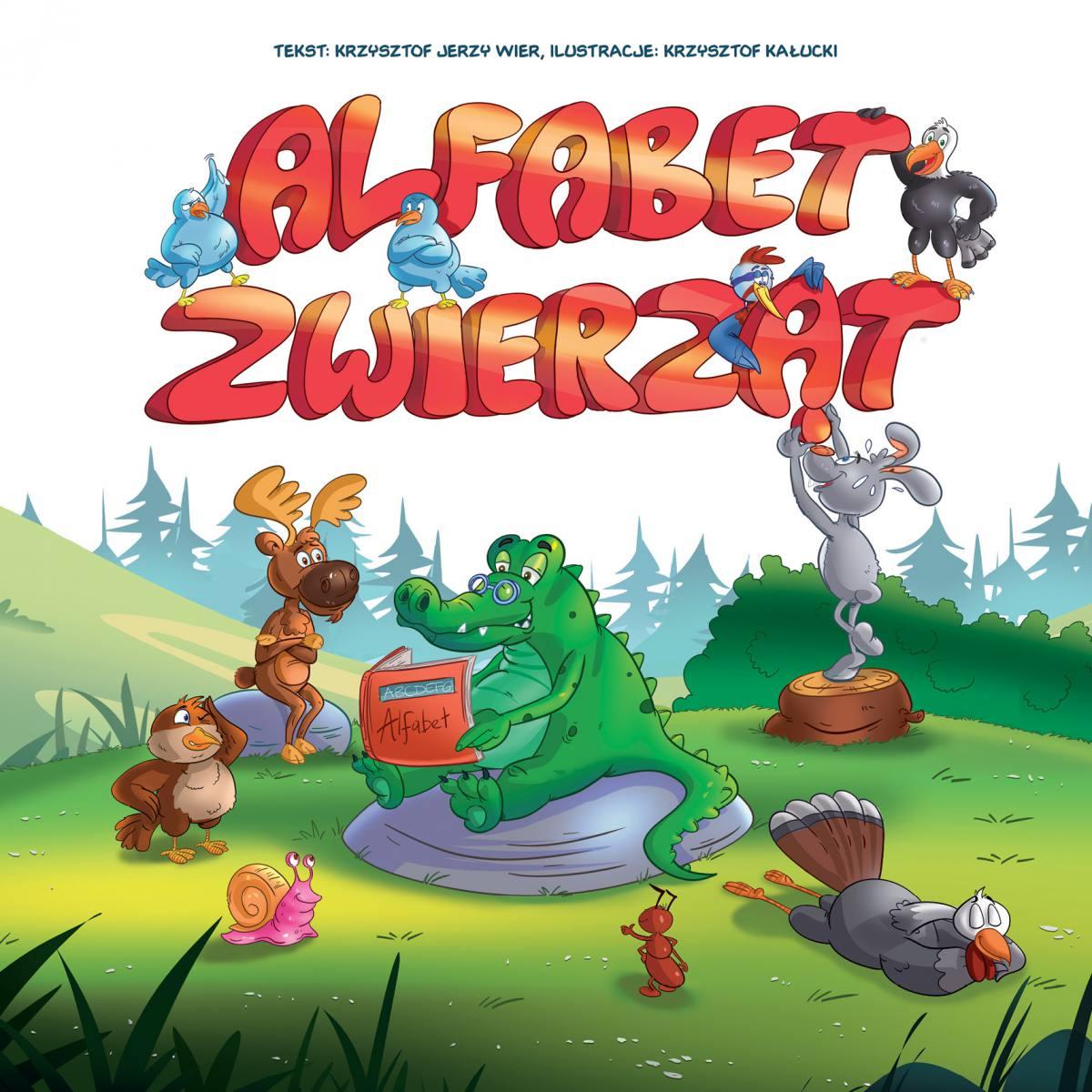 Alfabet zwierząt - Ebook (Książka EPUB) do pobrania w formacie EPUB