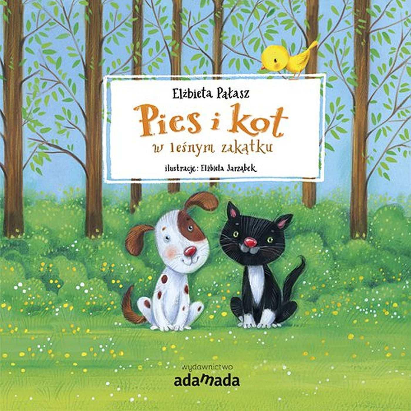 Pies i kot w leśnym zakątku - Ebook (Książka EPUB) do pobrania w formacie EPUB
