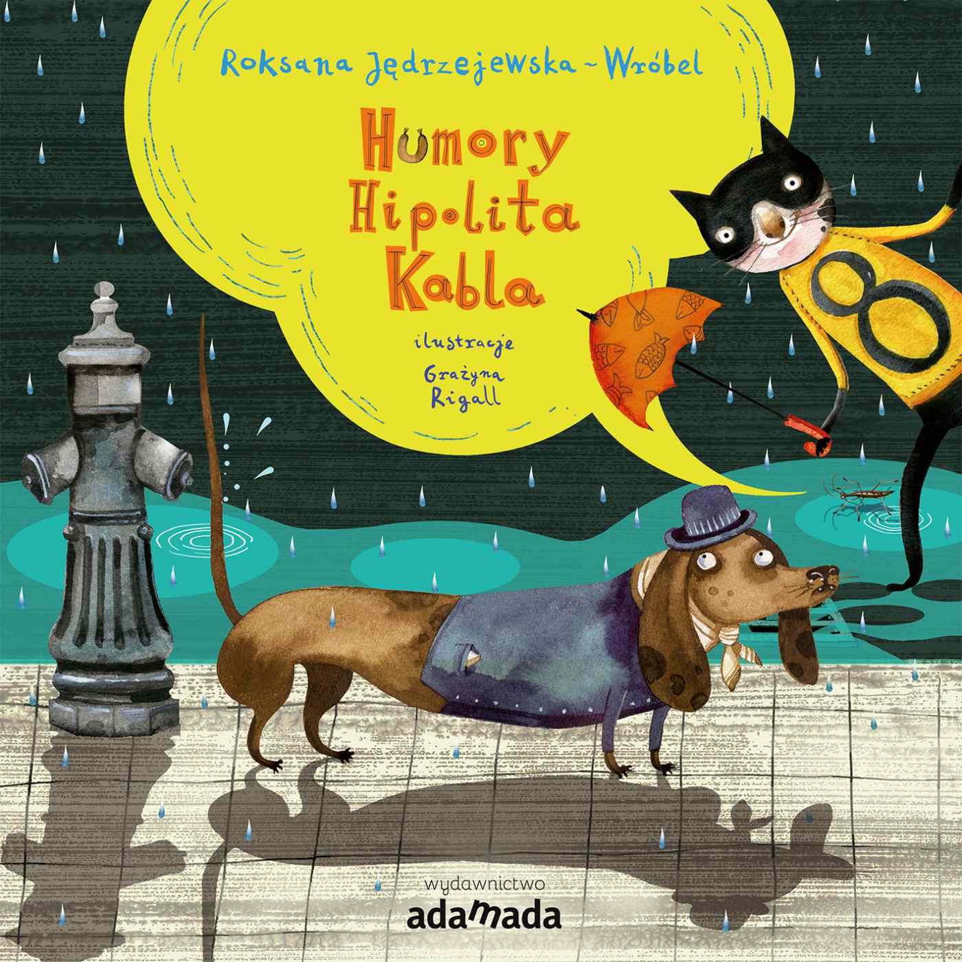Humory Hipolita Kabla - Ebook (Książka na Kindle) do pobrania w formacie MOBI
