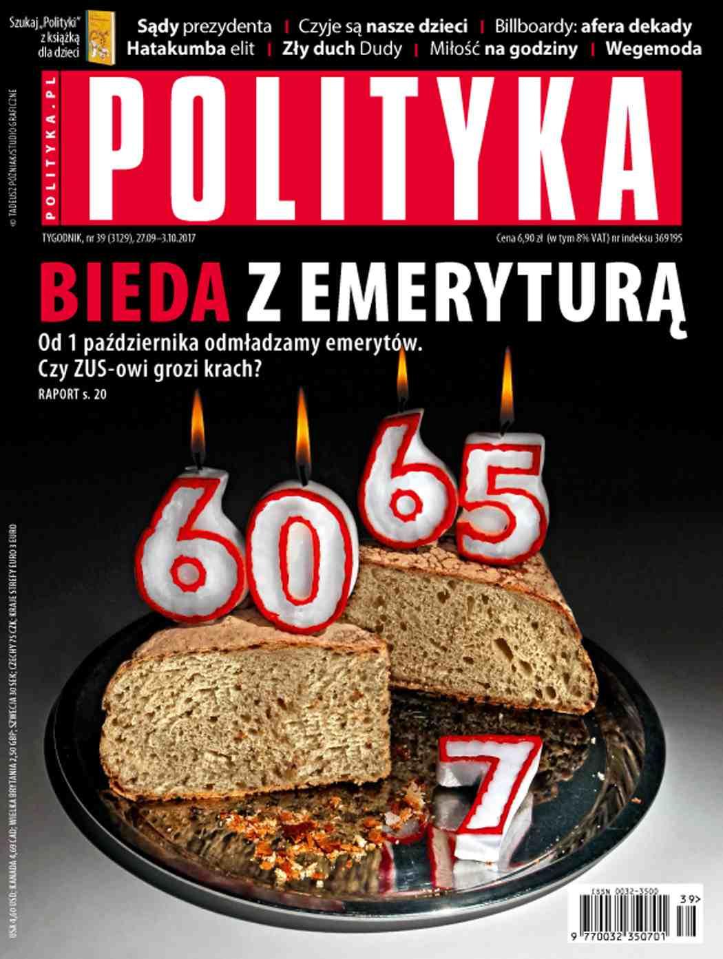 Polityka nr 39/2017 - Ebook (Książka PDF) do pobrania w formacie PDF