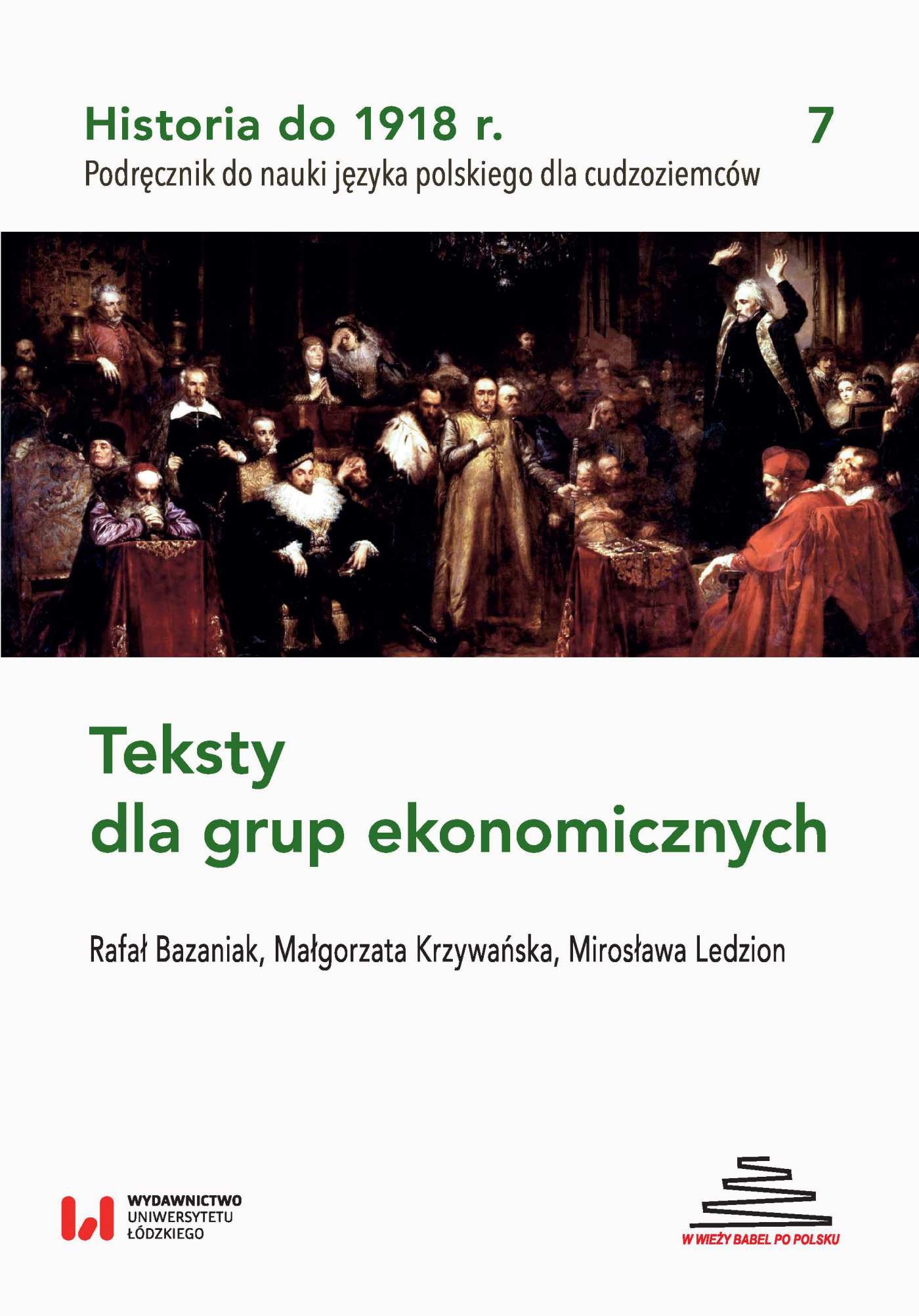 Historia do 1918 r. Teksty dla grup ekonomicznych - Ebook (Książka PDF) do pobrania w formacie PDF