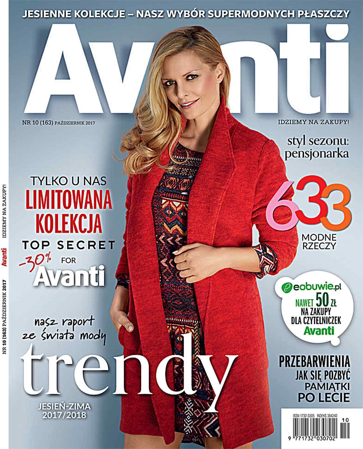 Avanti 10/2017 - Ebook (Książka PDF) do pobrania w formacie PDF
