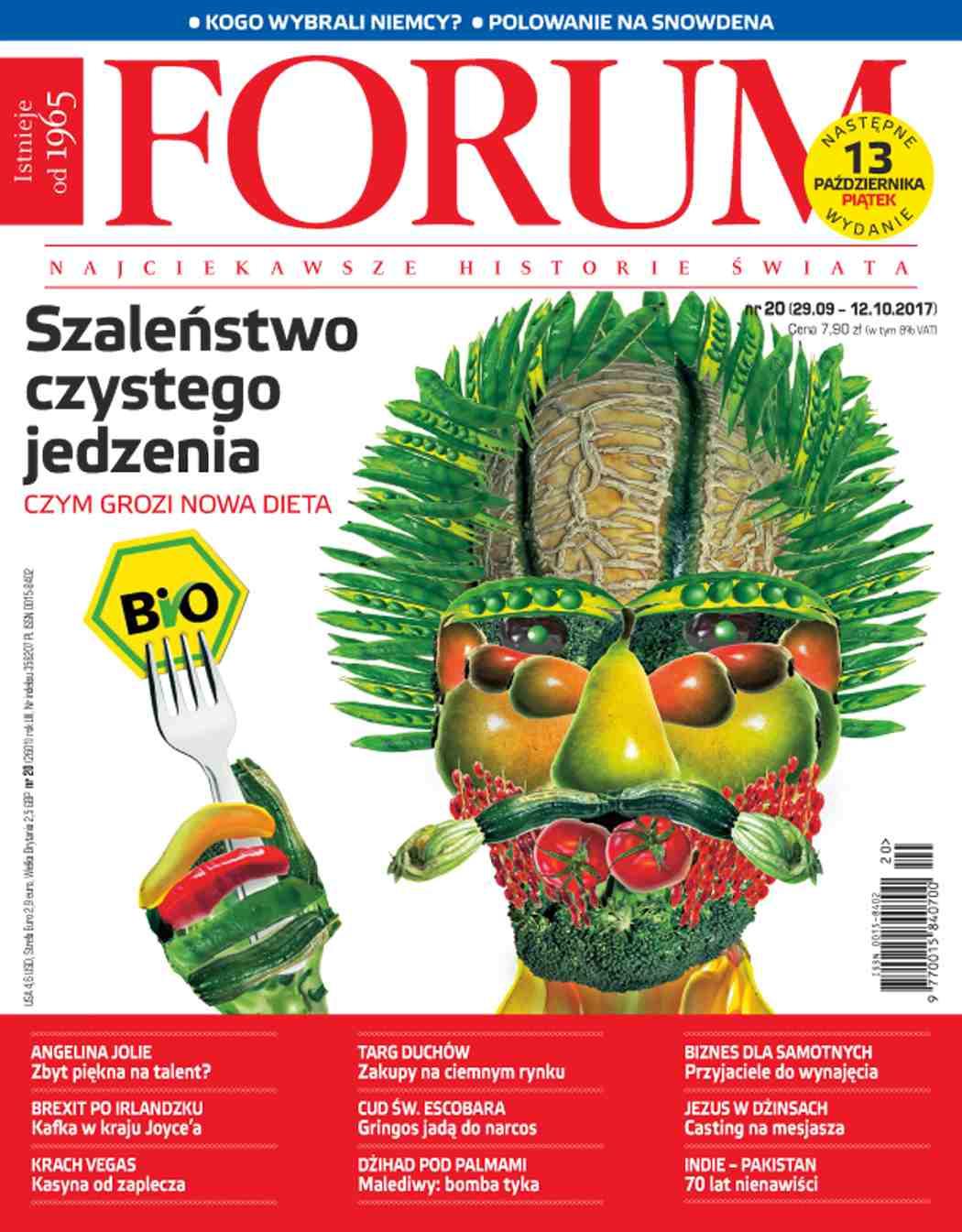 Forum nr 20/2017 - Ebook (Książka PDF) do pobrania w formacie PDF
