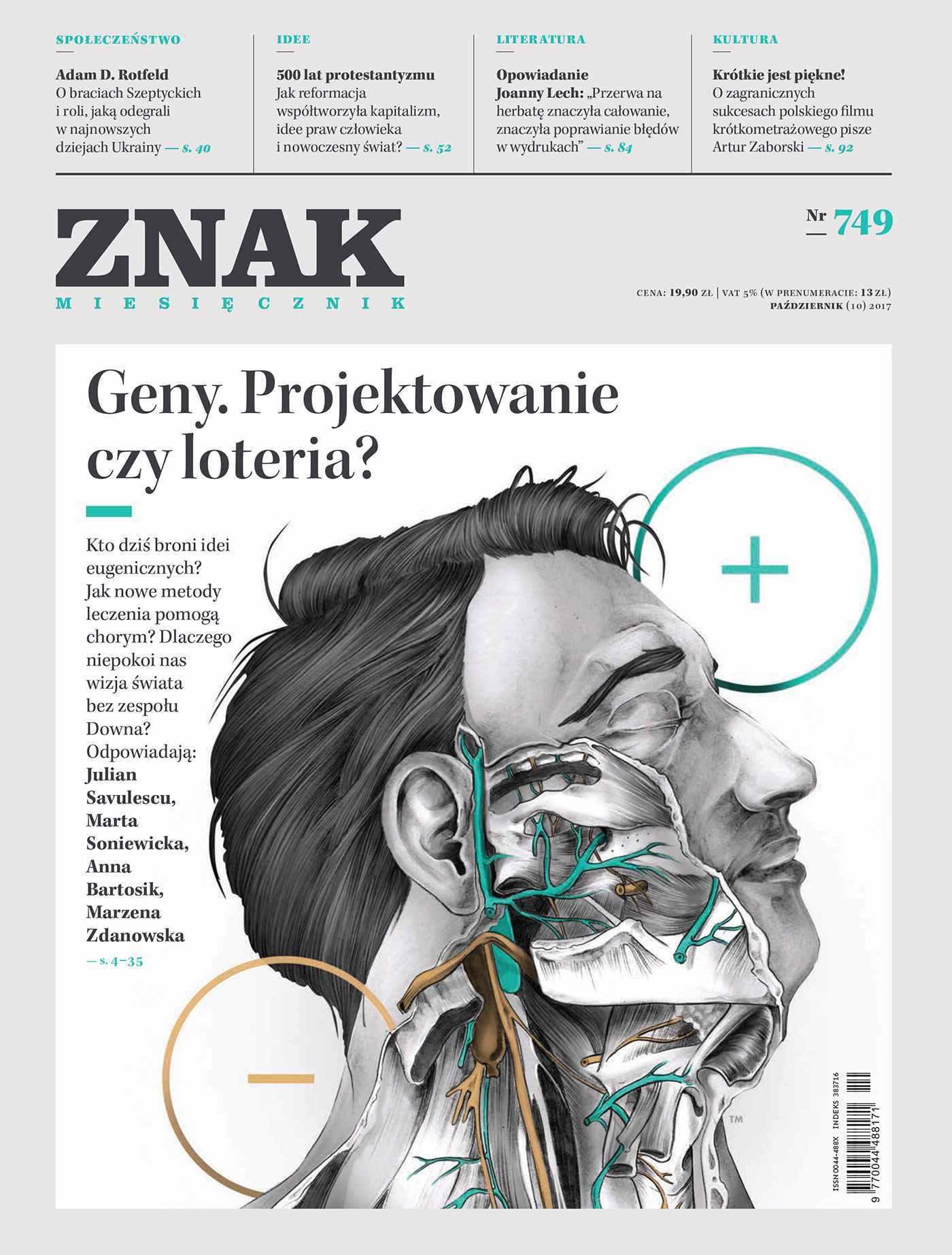 Miesięcznik Znak nr 749 Geny. Projektowanie czy loteria? - Ebook (Książka PDF) do pobrania w formacie PDF