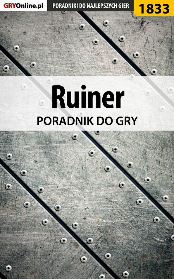Ruiner - poradnik do gry - Ebook (Książka EPUB) do pobrania w formacie EPUB