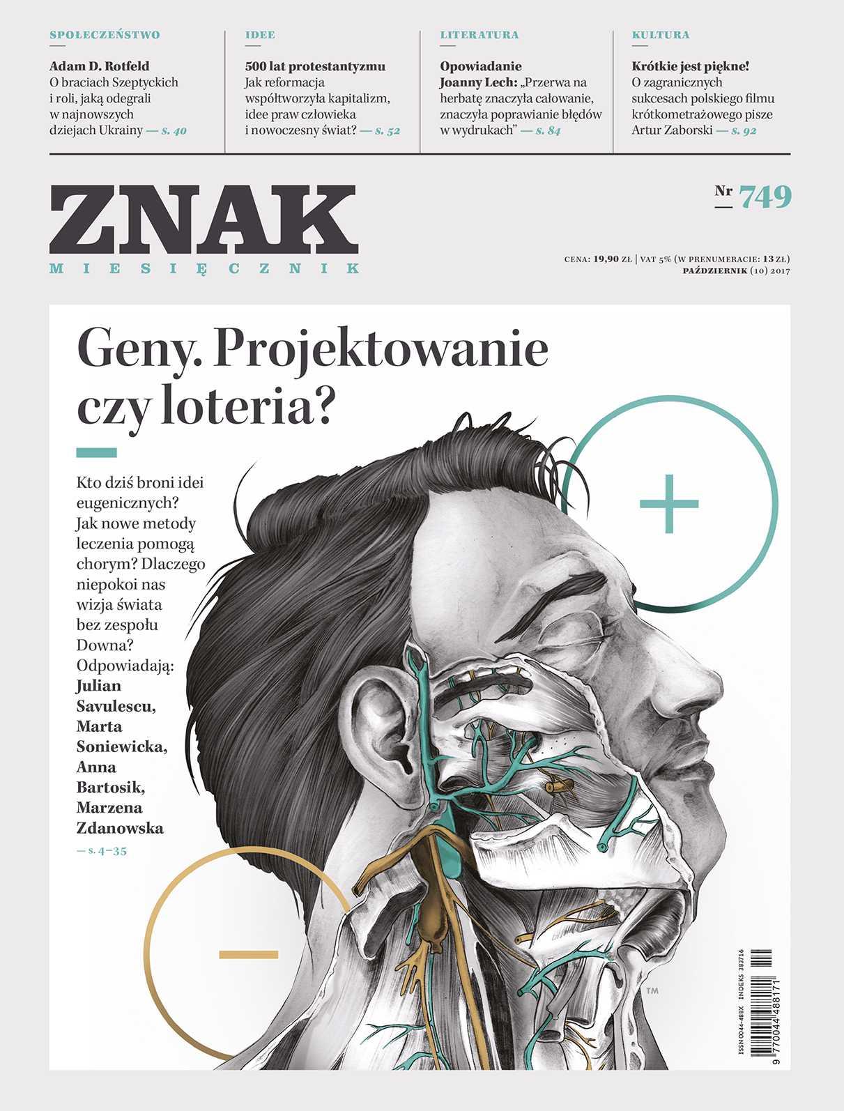 Miesięcznik Znak nr 749 Geny. Projektowanie czy loteria? - Ebook (Książka EPUB) do pobrania w formacie EPUB