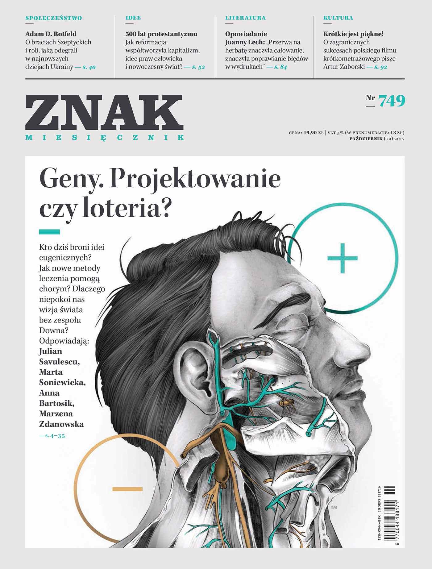 Miesięcznik Znak nr 749 Geny. Projektowanie czy loteria? - Ebook (Książka na Kindle) do pobrania w formacie MOBI