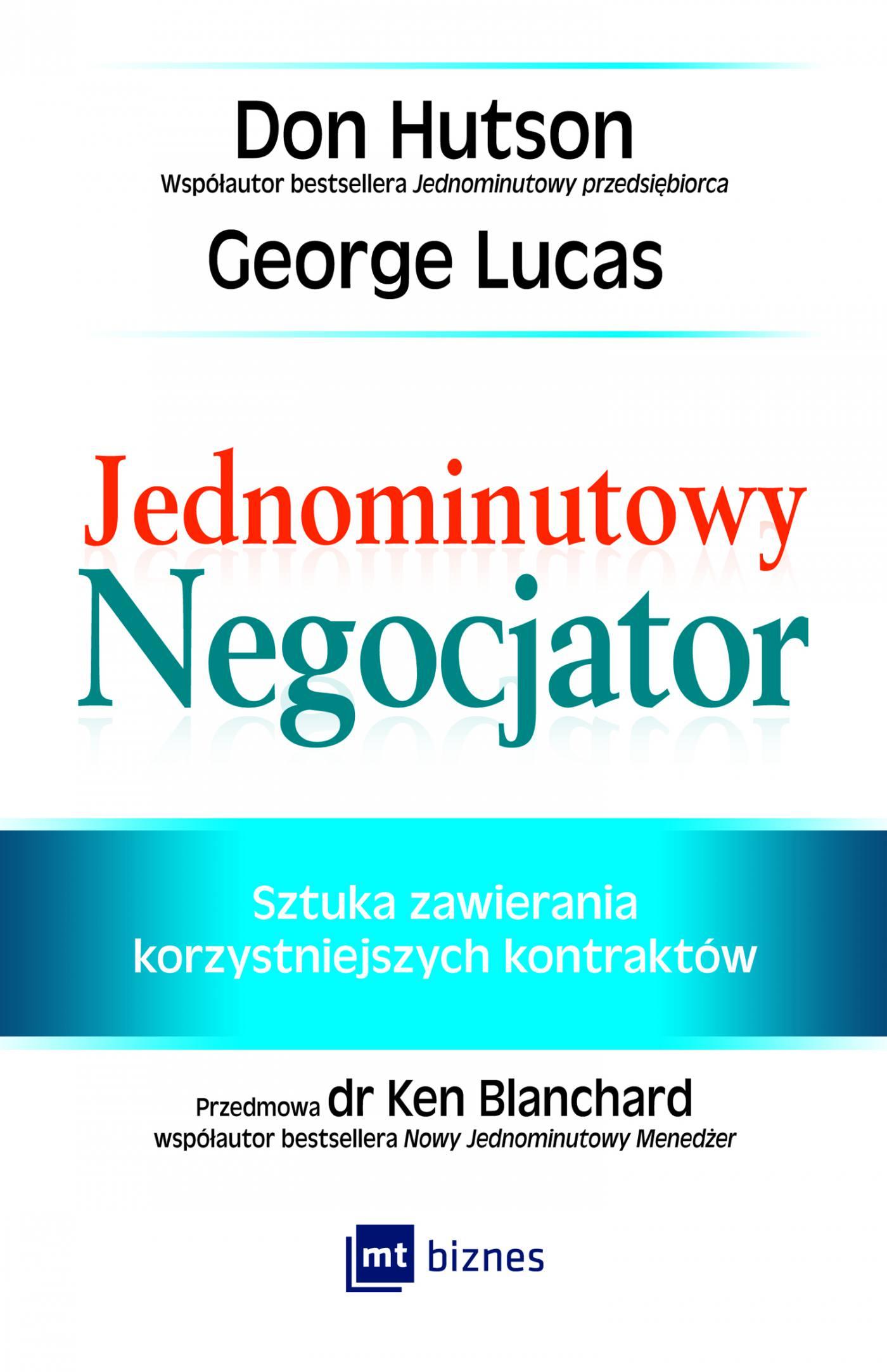 Jednominutowy Negocjator - Ebook (Książka na Kindle) do pobrania w formacie MOBI