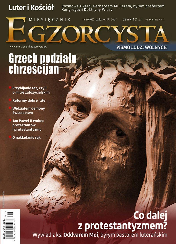 Miesięcznik Egzorcysta 62 (październik 2017) - Ebook (Książka PDF) do pobrania w formacie PDF