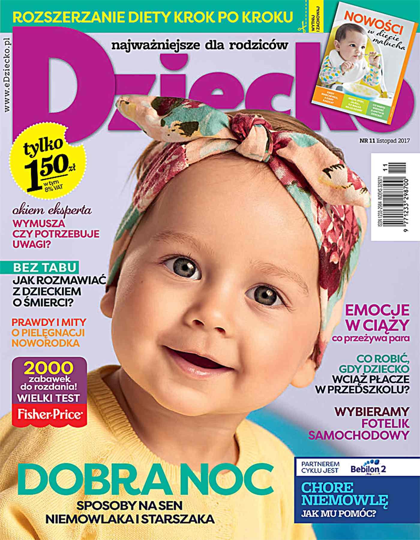 Dziecko 11/2017 - Ebook (Książka PDF) do pobrania w formacie PDF