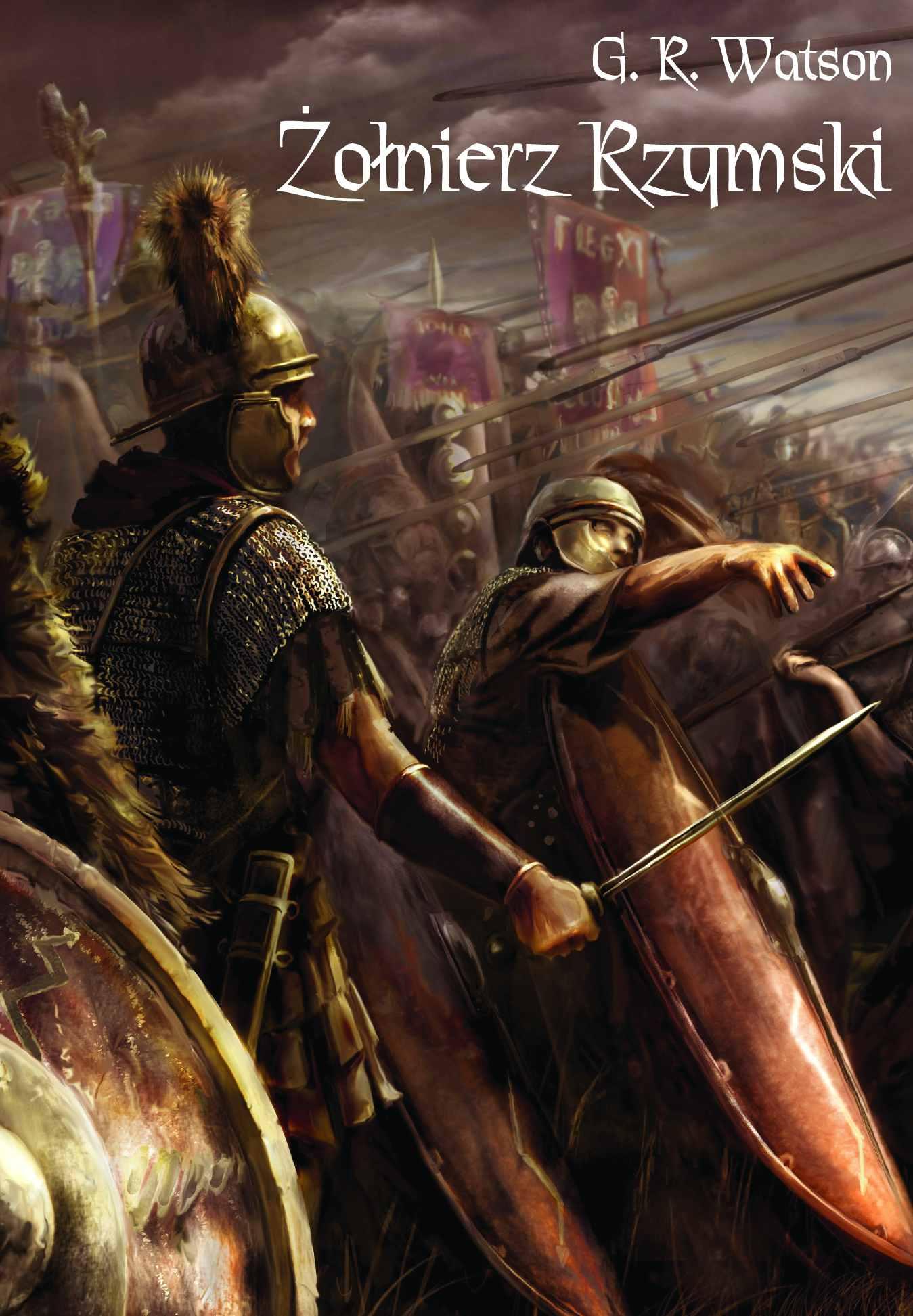 Żołnierz rzymski - Ebook (Książka EPUB) do pobrania w formacie EPUB
