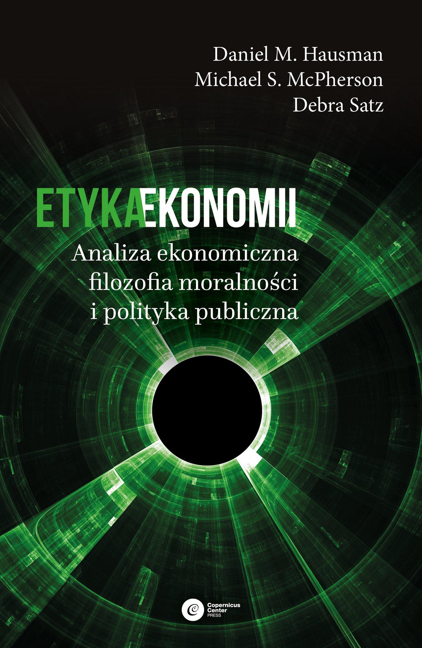 Etyka ekonomii - Ebook (Książka EPUB) do pobrania w formacie EPUB