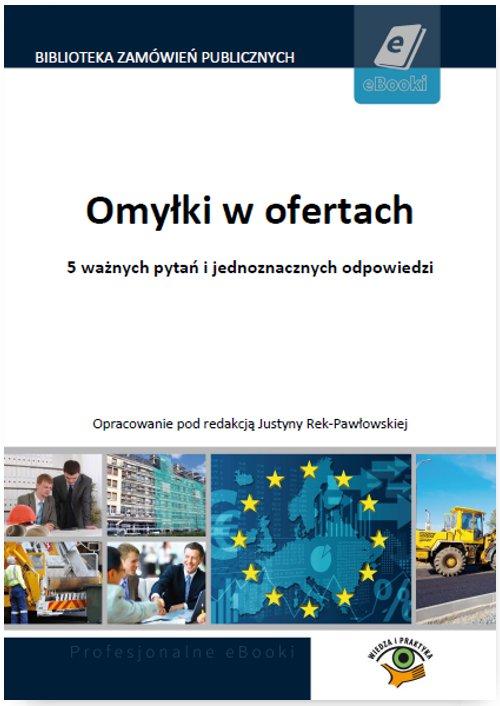 Omyłki w ofertach - Ebook (Książka PDF) do pobrania w formacie PDF
