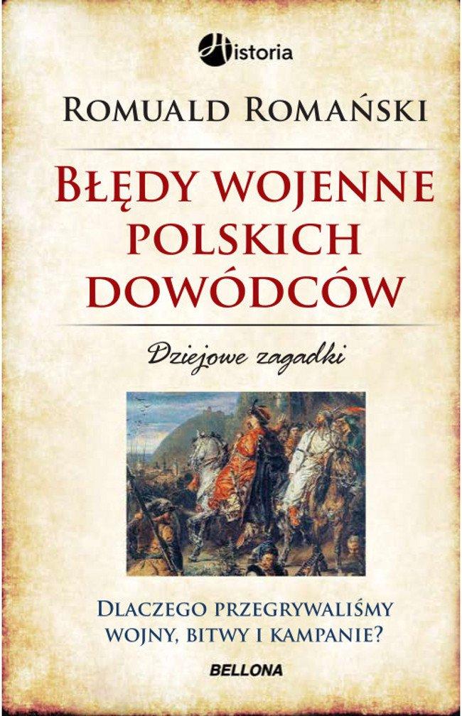 Błędy wojenne polskich dowódców - Ebook (Książka EPUB) do pobrania w formacie EPUB