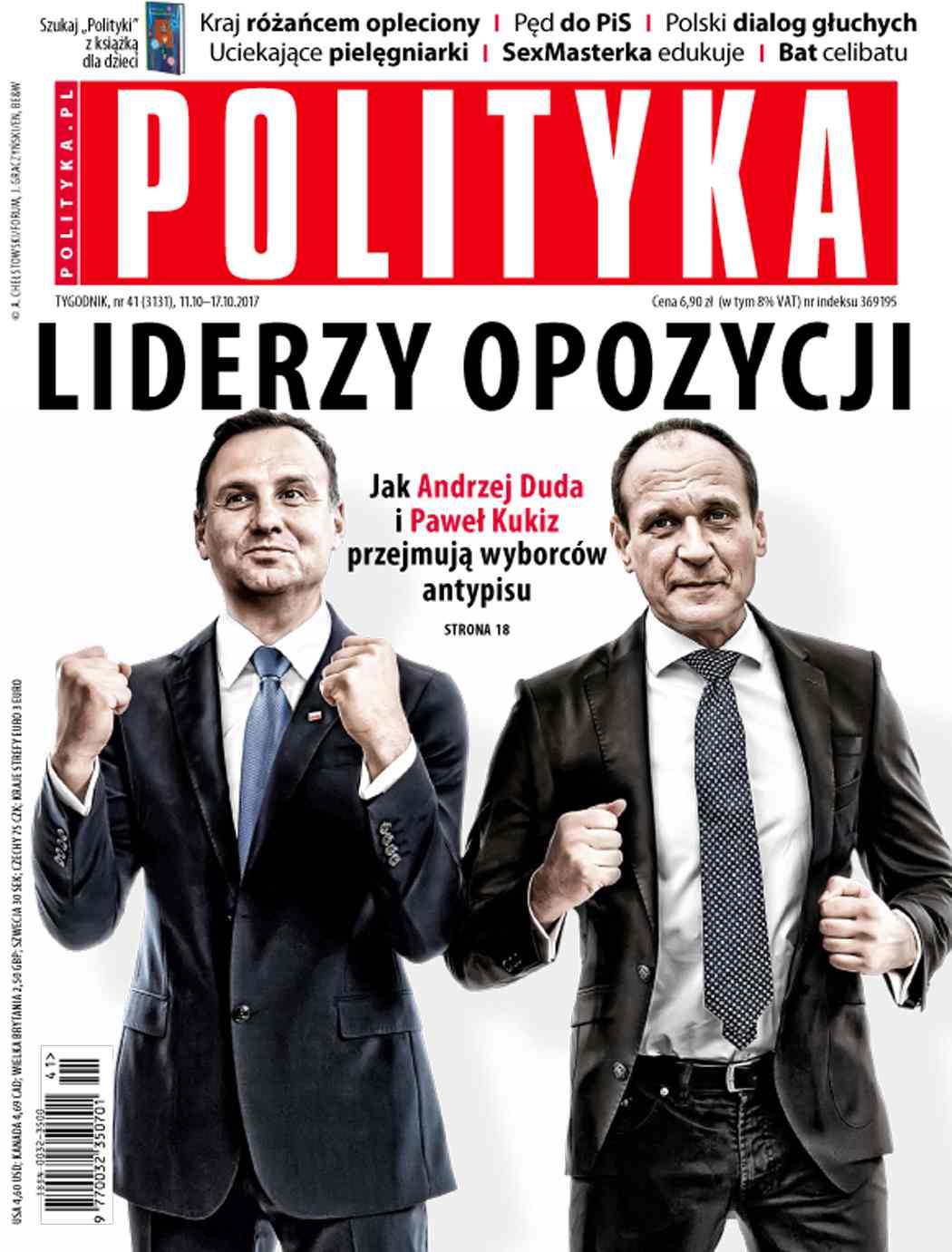 Polityka nr 41/2017 - Ebook (Książka PDF) do pobrania w formacie PDF
