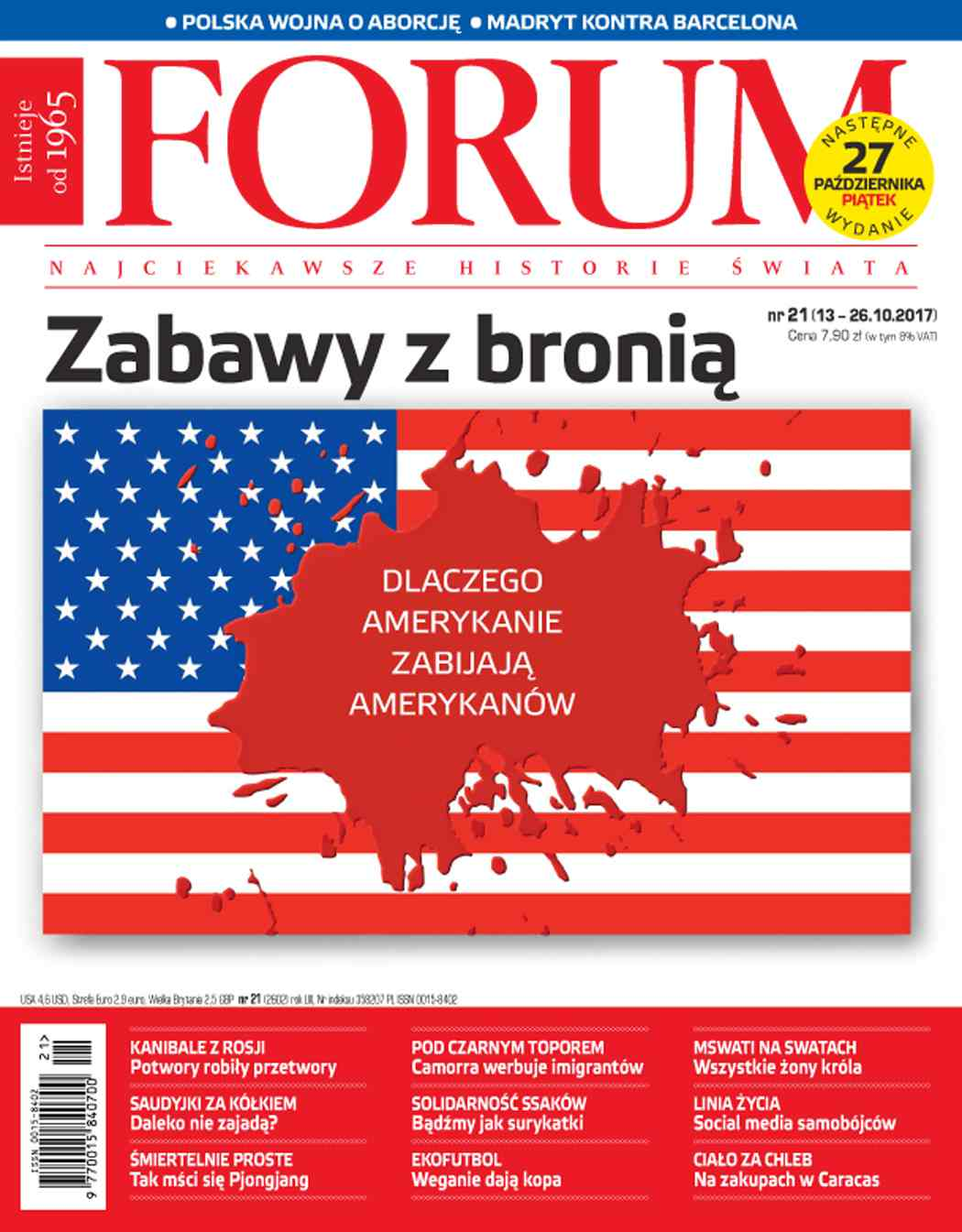 Forum nr 21/2017 - Ebook (Książka PDF) do pobrania w formacie PDF