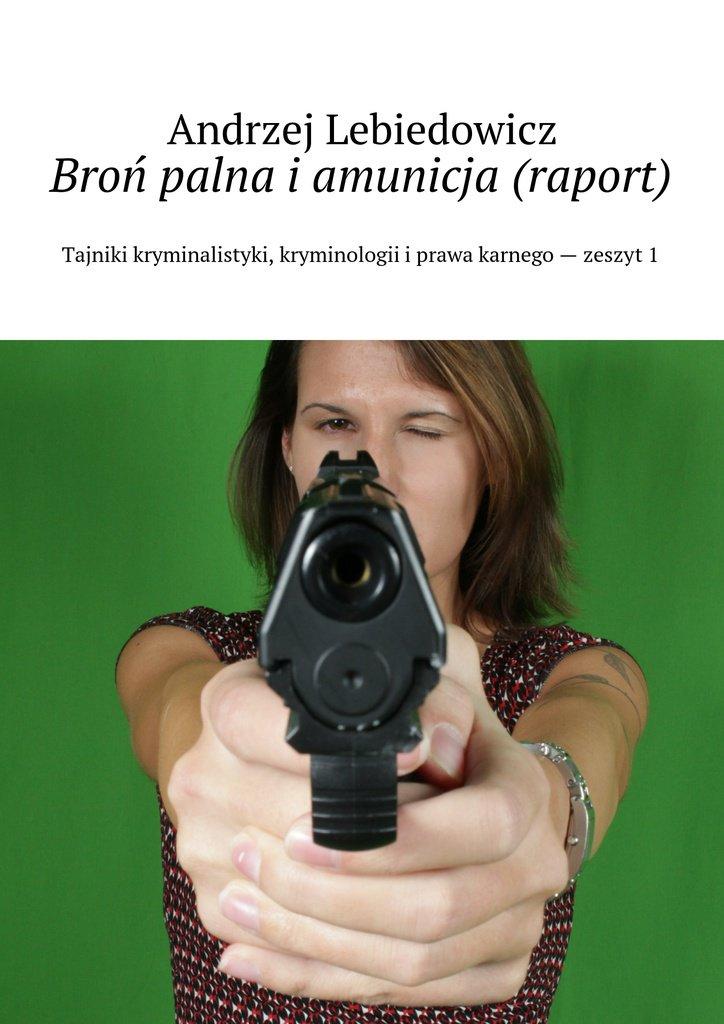 Broń palna iamunicja (raport) - Ebook (Książka EPUB) do pobrania w formacie EPUB