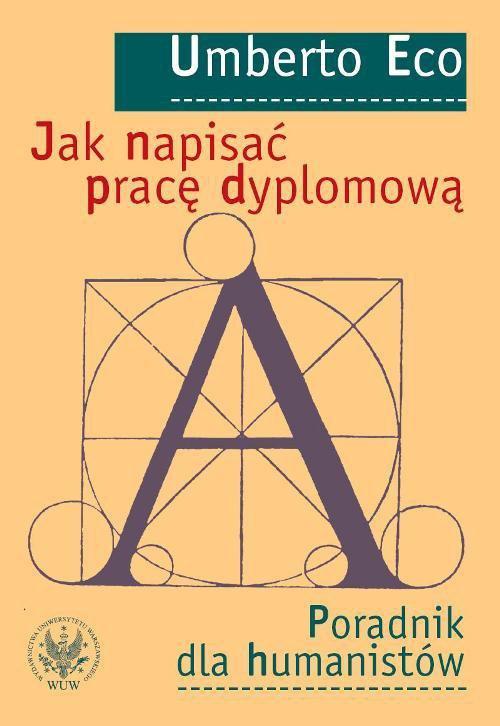 Jak napisać pracę dyplomową - Ebook (Książka PDF) do pobrania w formacie PDF