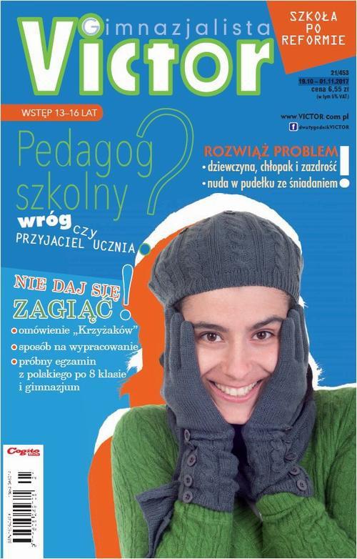 Victor Gimnazjalista nr 21/453 19.10 – 01.11.2017 - Ebook (Książka PDF) do pobrania w formacie PDF