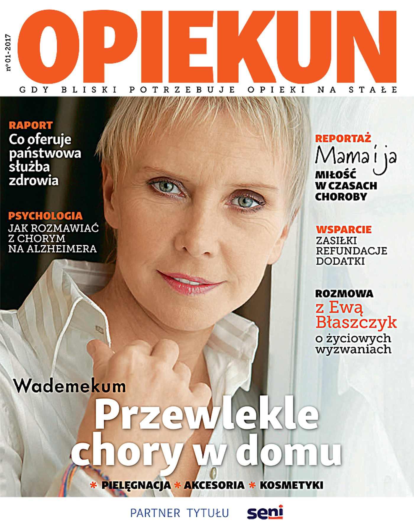 Opiekun. Gdy Bliski Potrzebuje Opieki na Stałe 1/2017 - Ebook (Książka PDF) do pobrania w formacie PDF