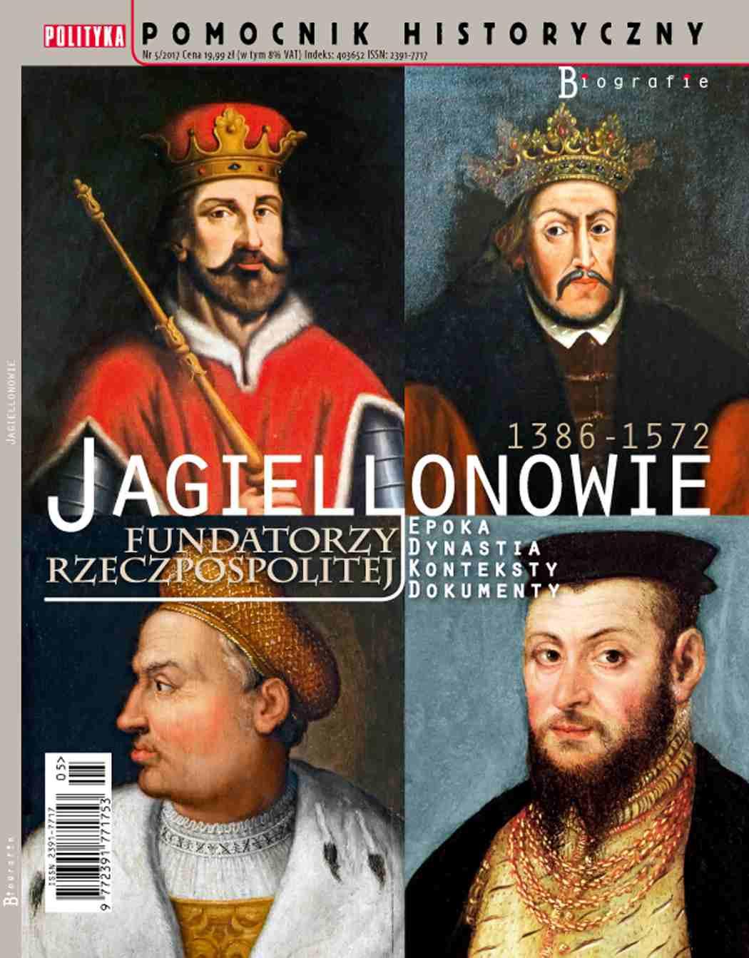 Pomocnik Historyczny. Jagiellonowie - Ebook (Książka PDF) do pobrania w formacie PDF