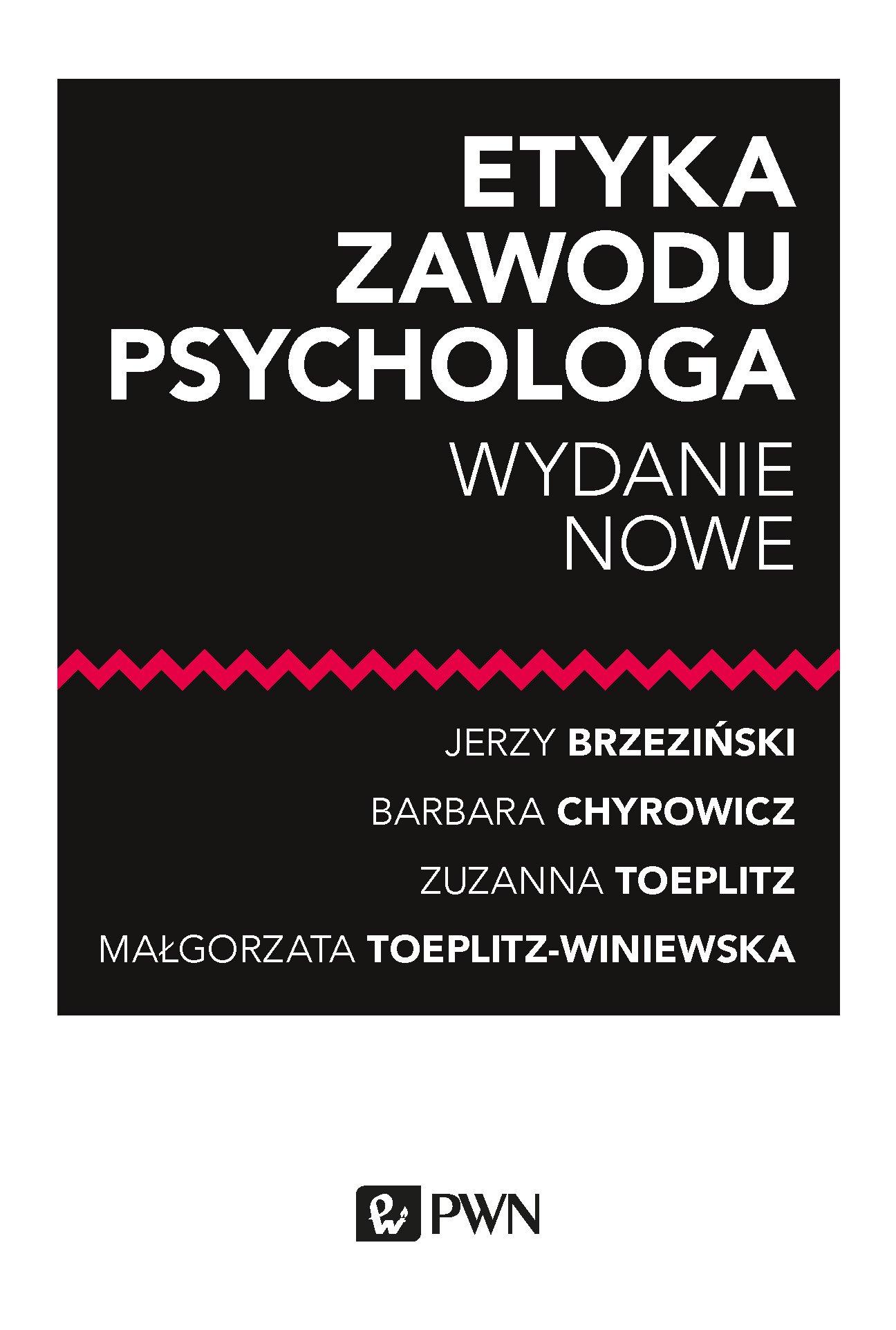 Etyka zawodu psychologa - Ebook (Książka EPUB) do pobrania w formacie EPUB