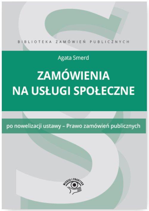Zamówienia na usługi społeczne - Ebook (Książka EPUB) do pobrania w formacie EPUB