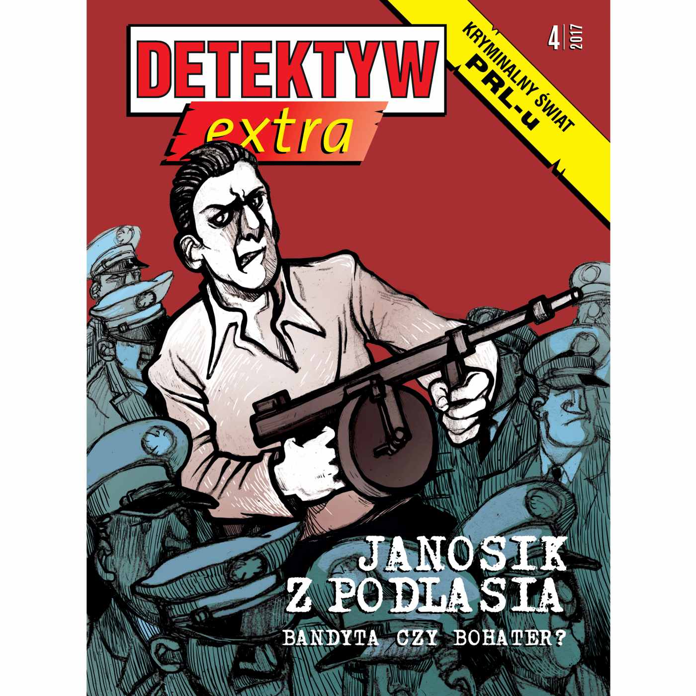 Detektyw Extra 4/2017 - Audiobook (Książka audio MP3) do pobrania w całości w archiwum ZIP