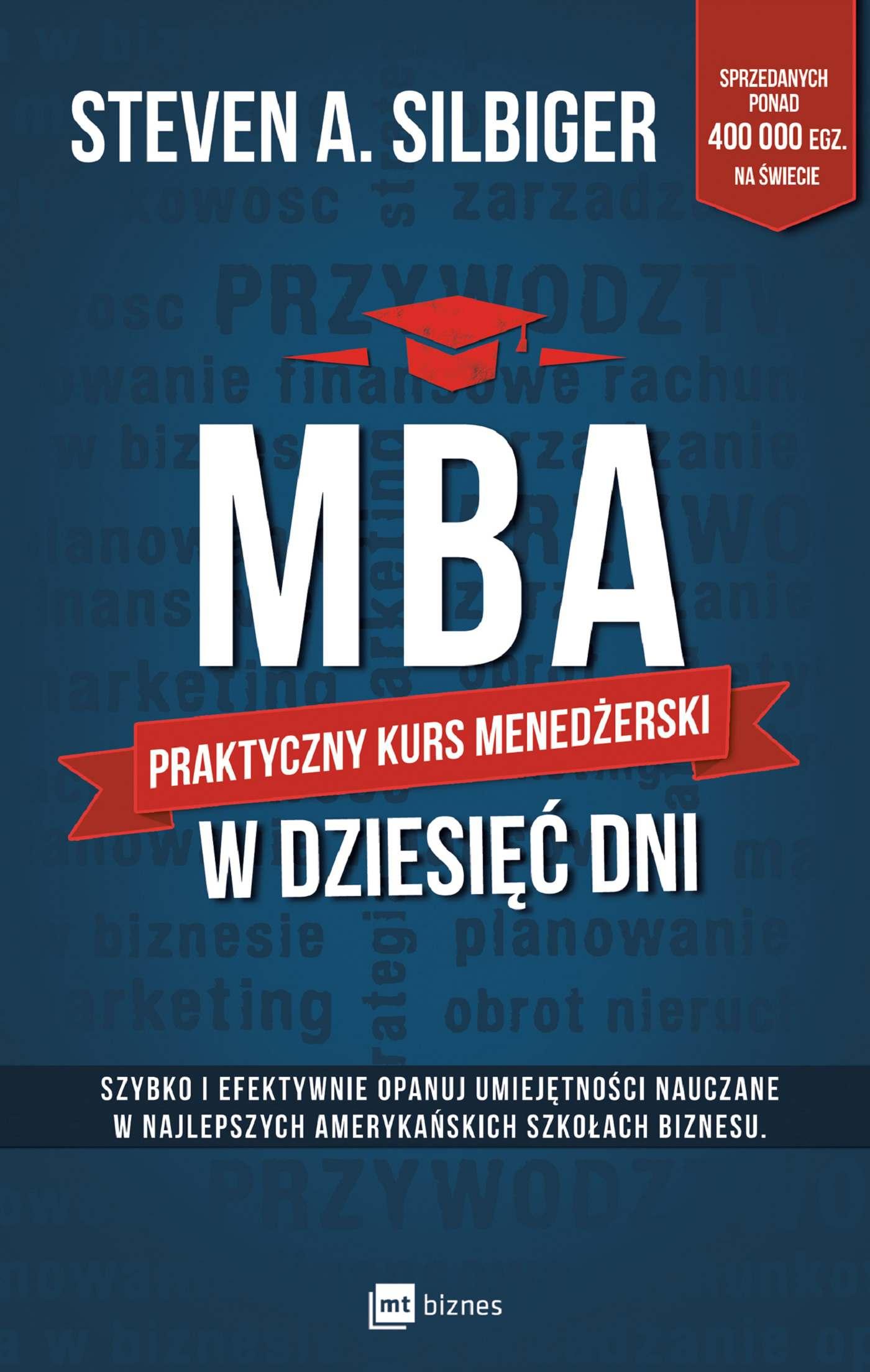 MBA w dziesięć dni. Praktyczny kurs menedżerski - Ebook (Książka EPUB) do pobrania w formacie EPUB