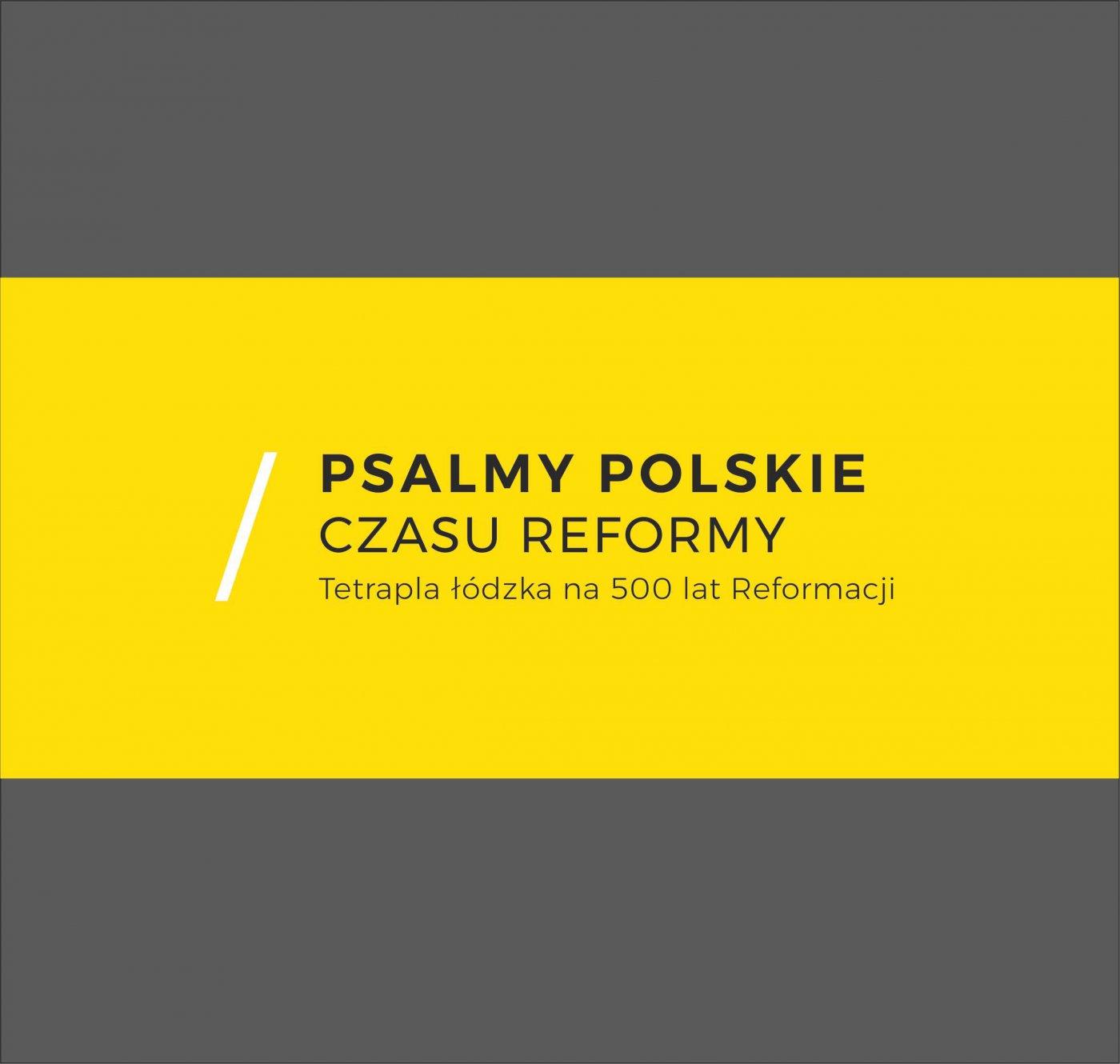 Psalmy polskie czasu reformy. Tetrapla łódzka na 500 lat Reformacji - Ebook (Książka PDF) do pobrania w formacie PDF