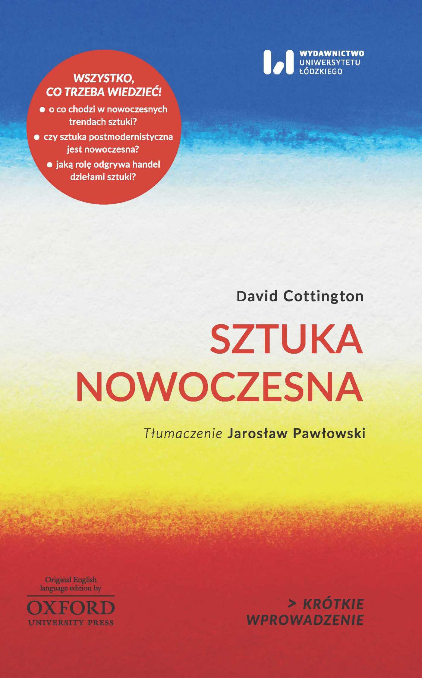 Sztuka nowoczesna. Krótkie wprowadzenie 9 - Ebook (Książka PDF) do pobrania w formacie PDF