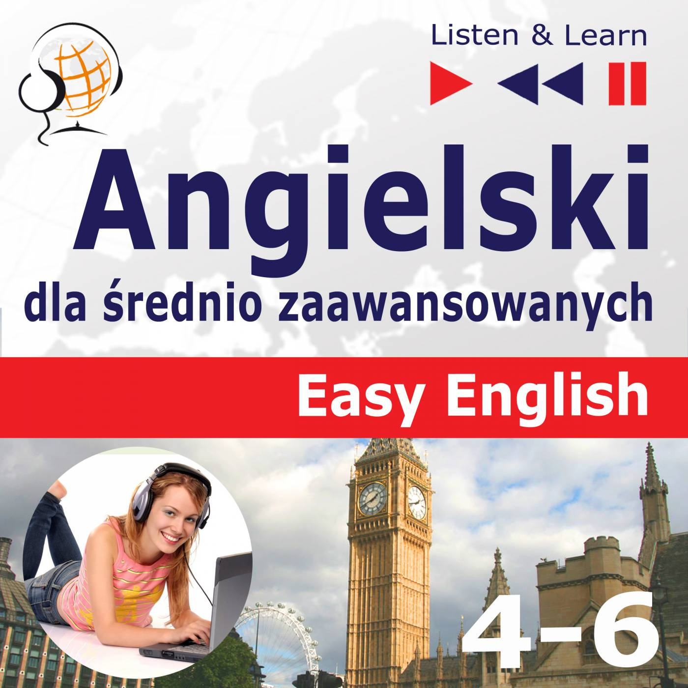 Angielski dla średnio zaawansowanych. Easy English: Części 4-6 - Audiobook (Książka audio MP3) do pobrania w całości w archiwum ZIP