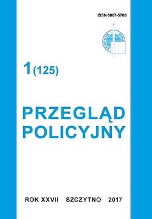 Przegląd Policyjny nr 1 (125) 2017 - Ebook (Książka PDF) do pobrania w formacie PDF