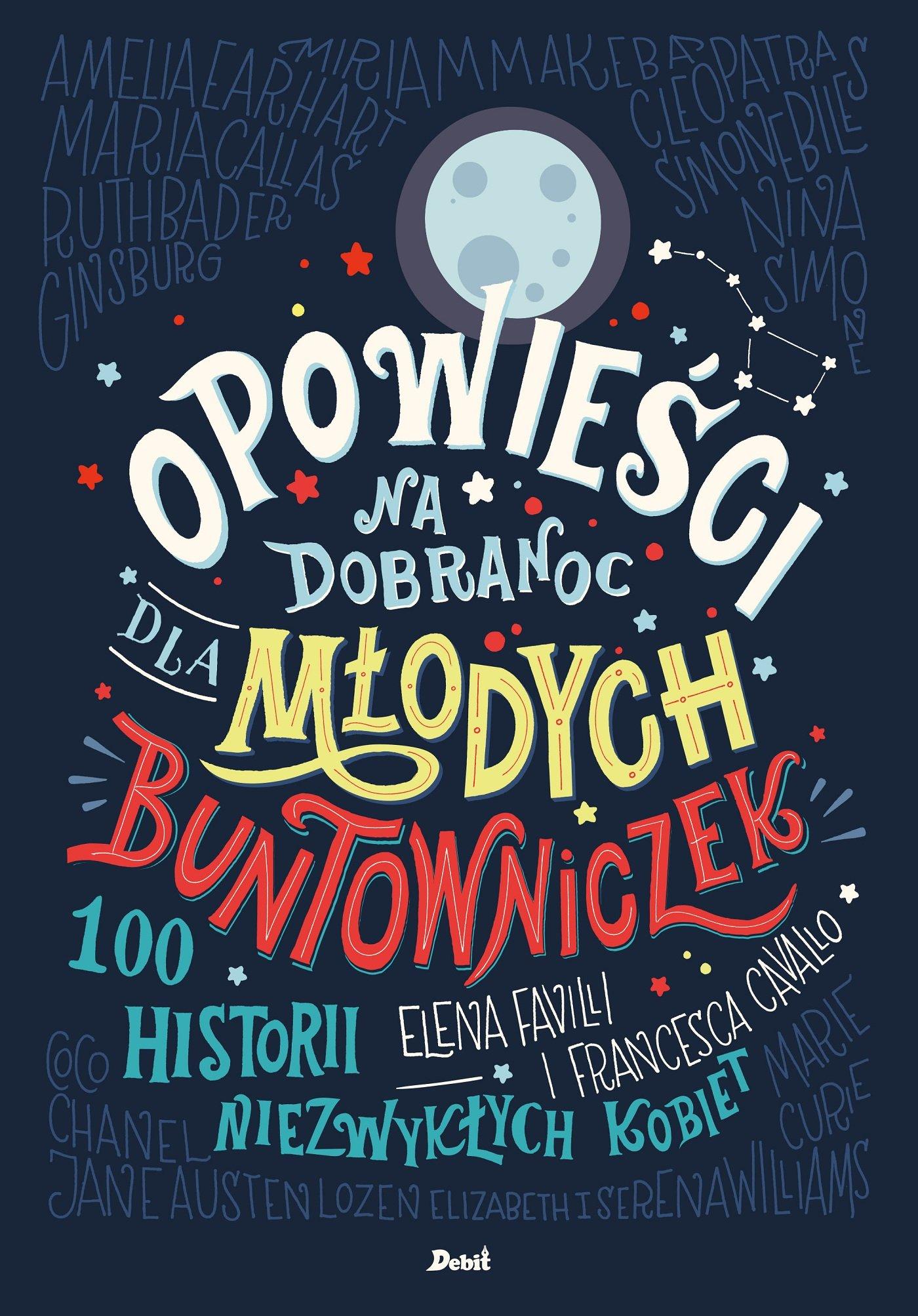 Opowieści na dobranoc dla młodych buntowniczek - Ebook (Książka na Kindle) do pobrania w formacie MOBI