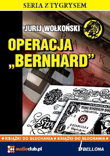 Operacja Bernhard - Audiobook (Książka audio MP3) do pobrania w całości w archiwum ZIP
