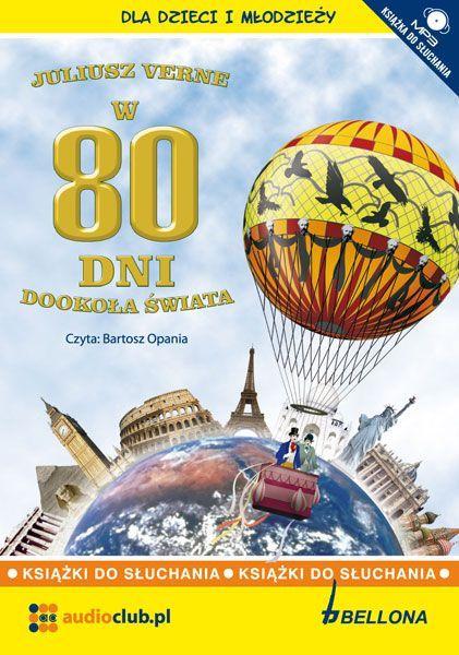 W 80 dni dookoła świata - Audiobook (Książka audio MP3) do pobrania w całości w archiwum ZIP