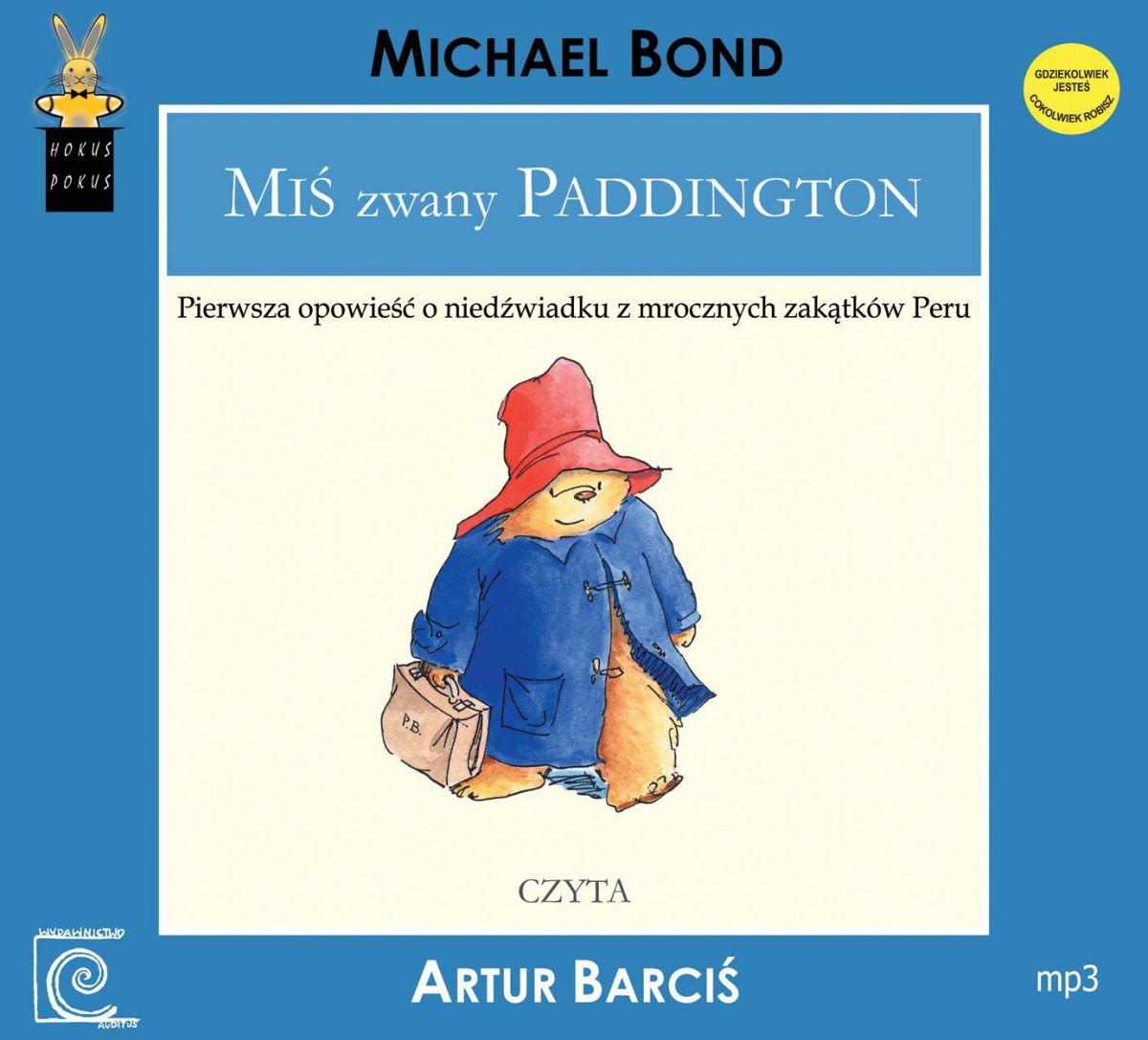 Miś zwany Paddington - Audiobook (Książka audio MP3) do pobrania w całości w archiwum ZIP