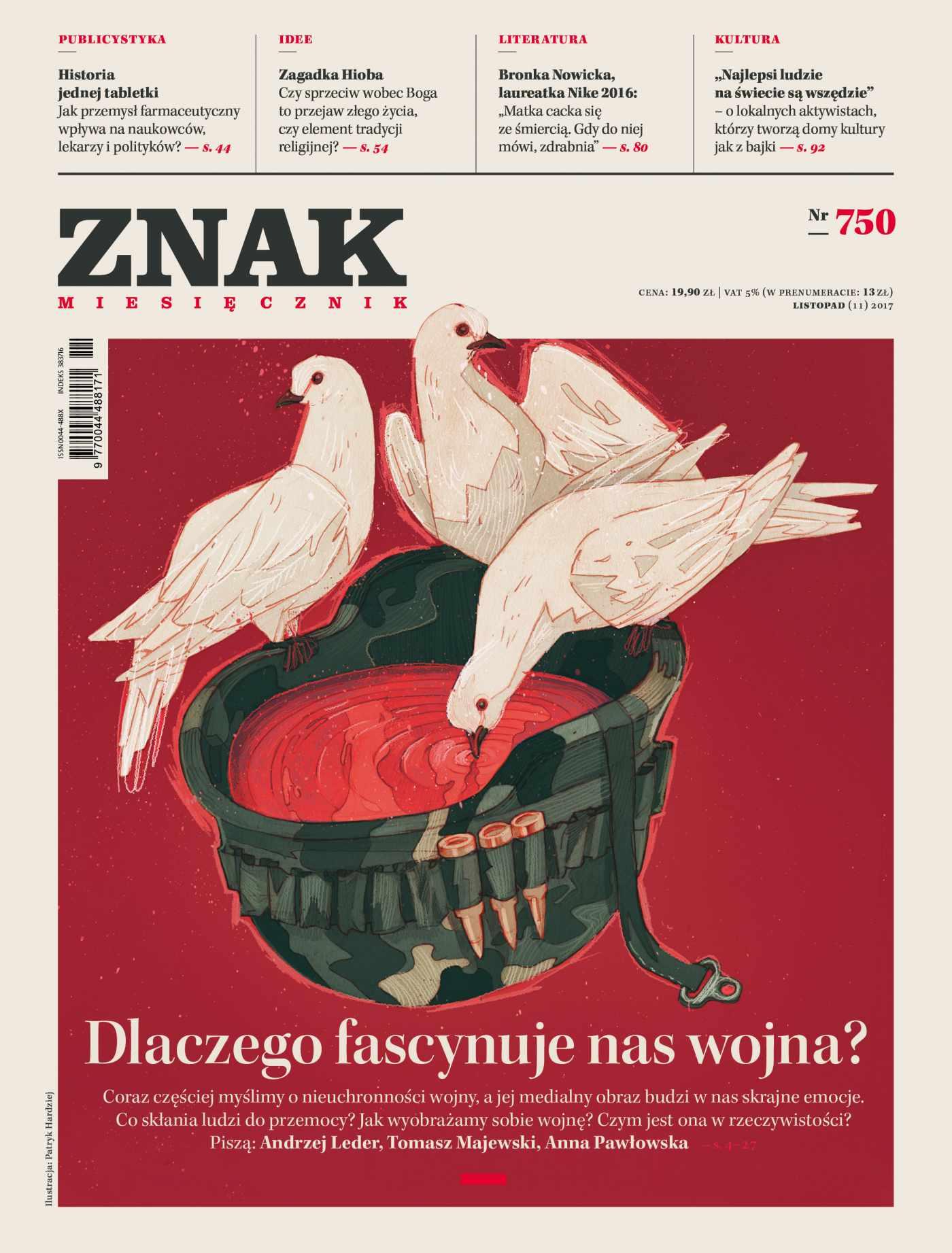 Miesięcznik Znak nr 750: Dlaczego fascynuje nas wojna? - Ebook (Książka EPUB) do pobrania w formacie EPUB